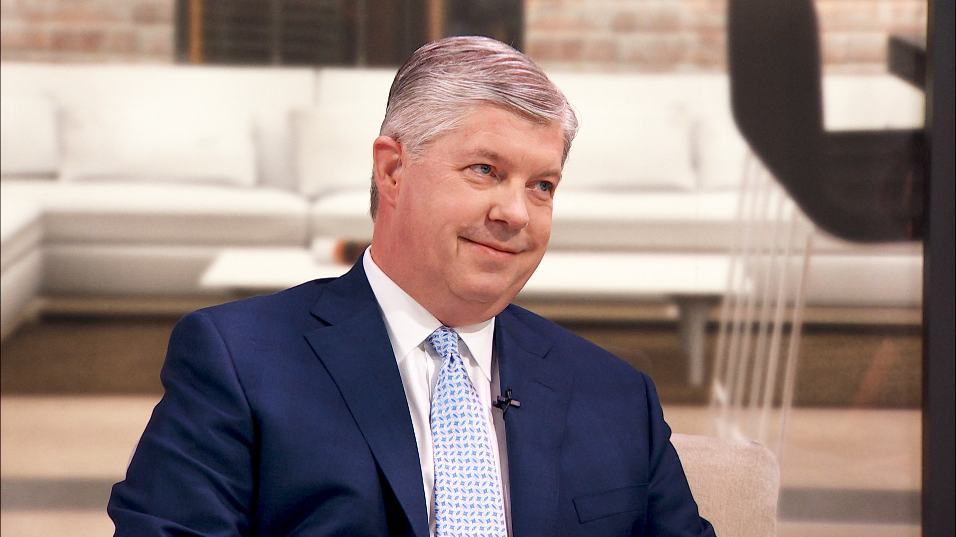Martin Marietta CEO Ward Nye talks to Fortune's Susie Gharib.