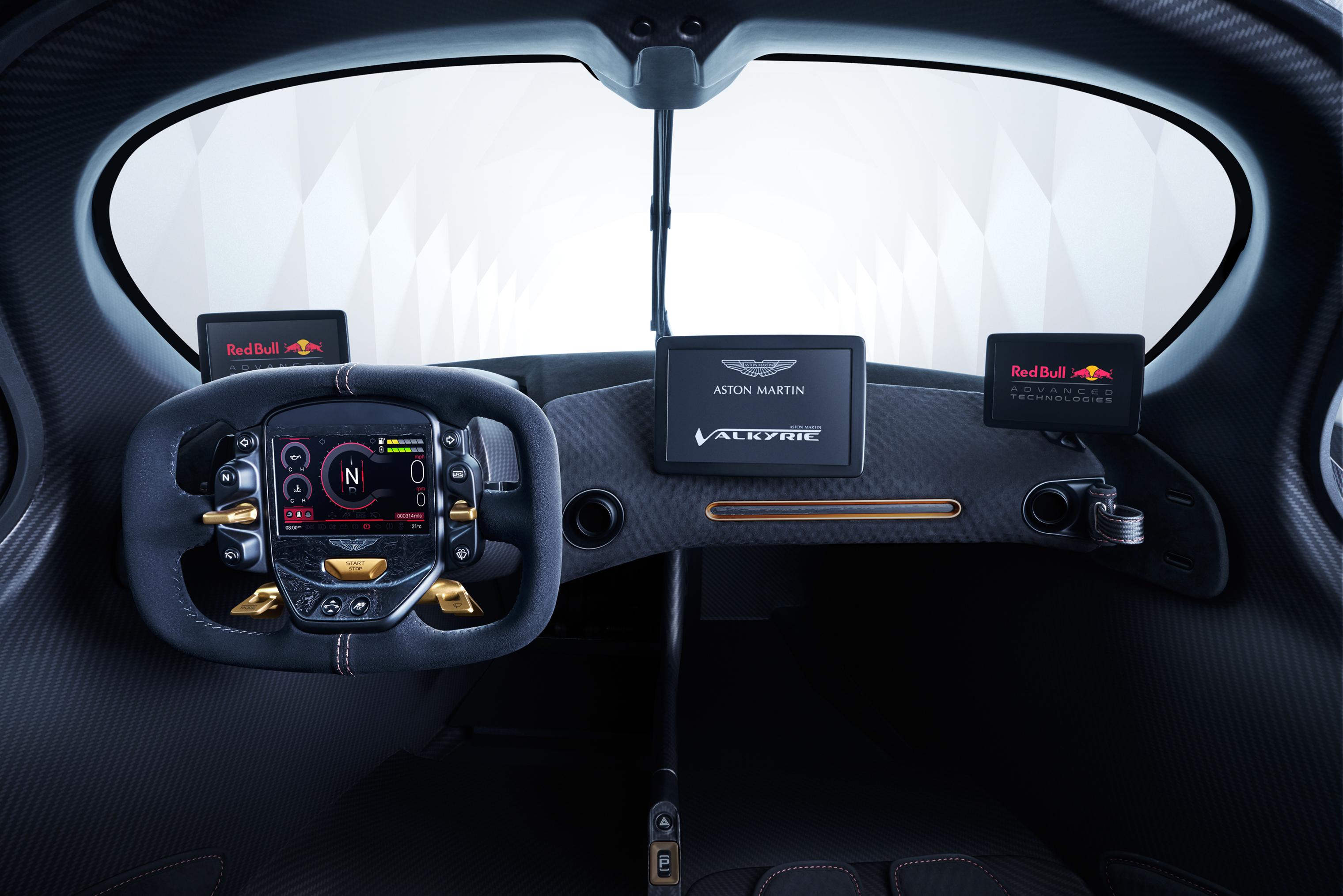 Aston Martin Valkyrie Inside