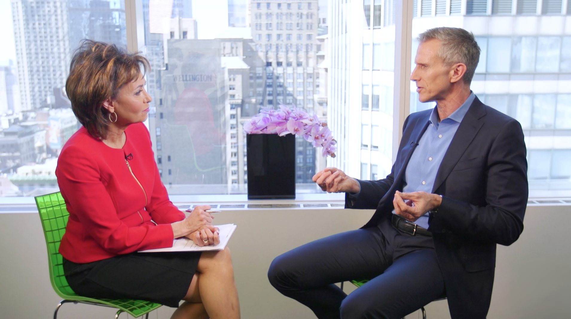Susie Gharib interviews VF Corp CEO Steve Rendle
