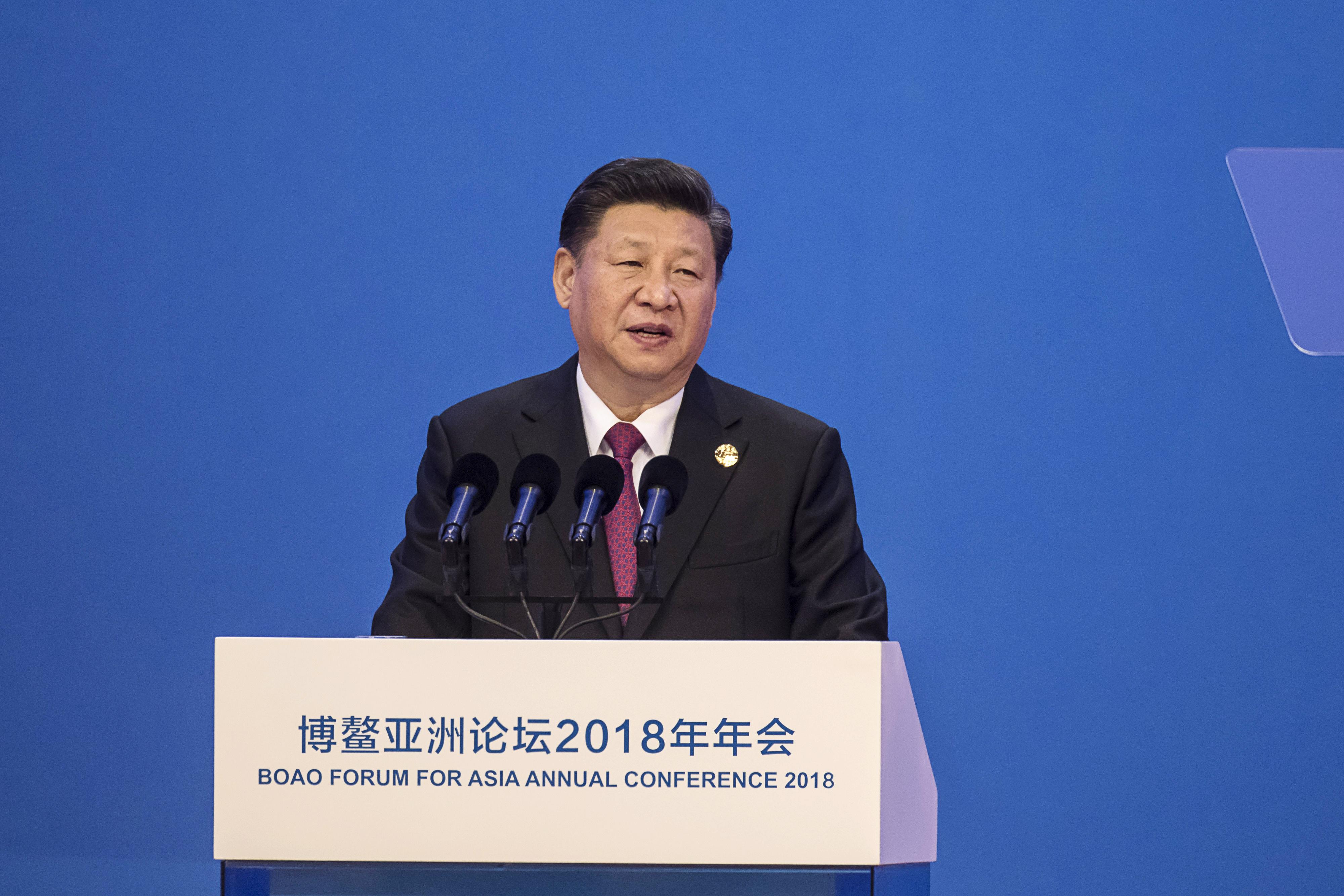 China President Xi Jinping trade war fears abate