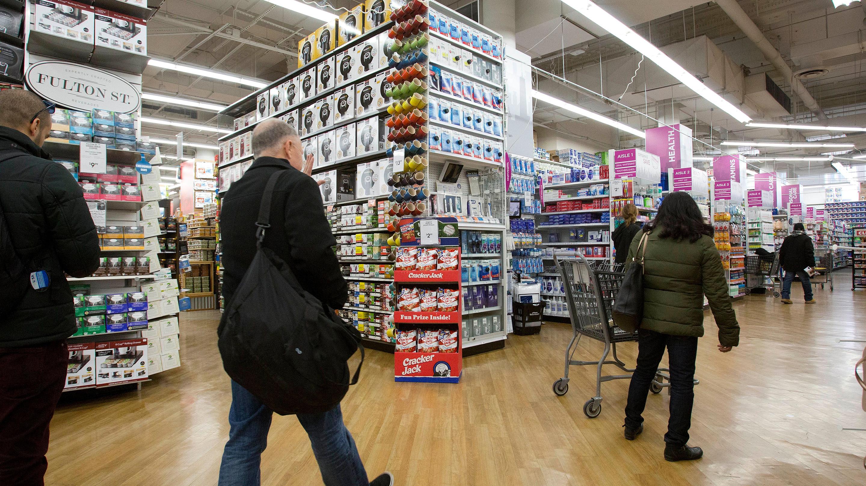 Retail Sales, New York, USA