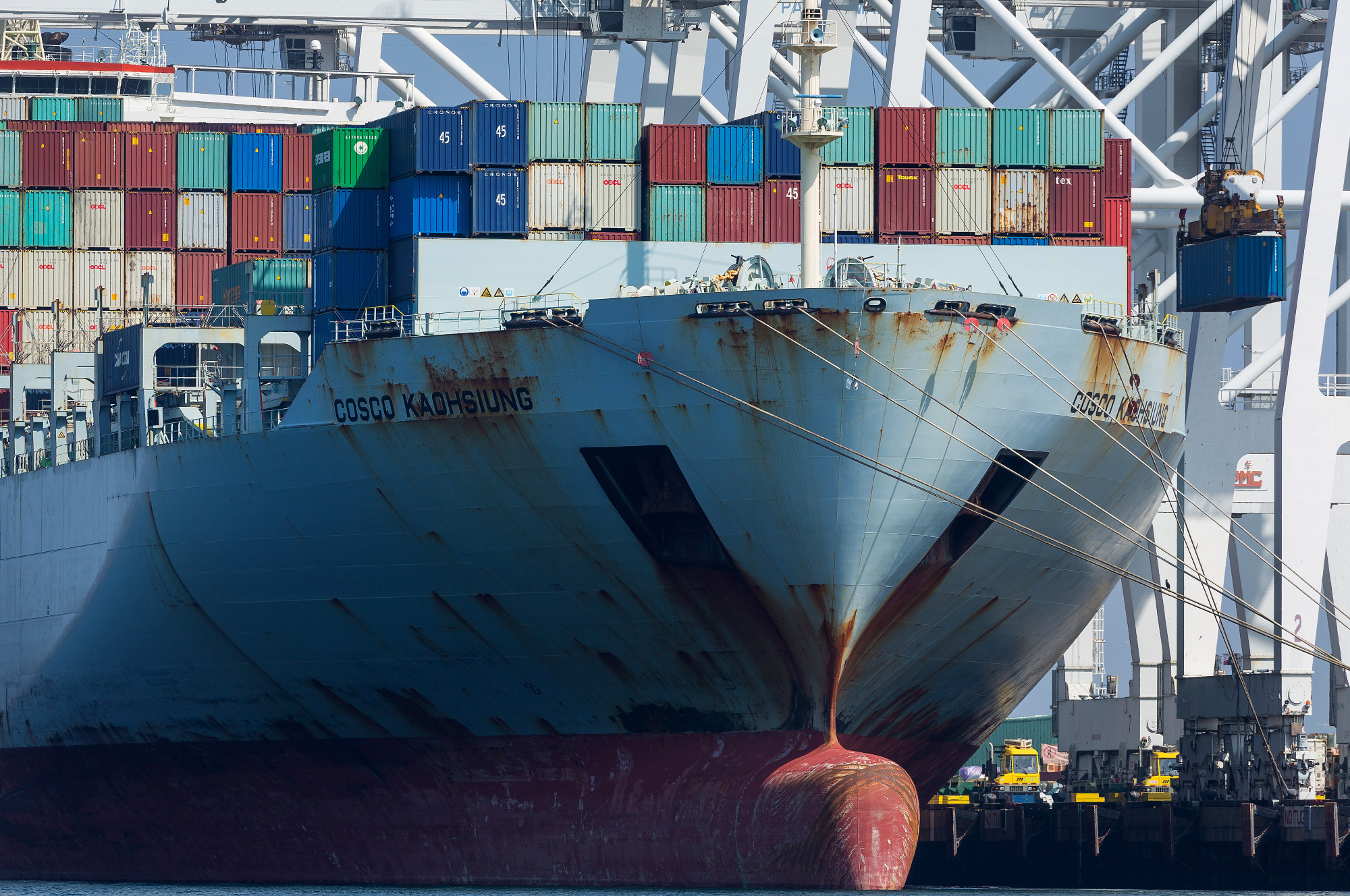 The Port Of Long Beach As U.S. Trade Gap Widens For Sixth Month Ahead Of Trump Tariffs