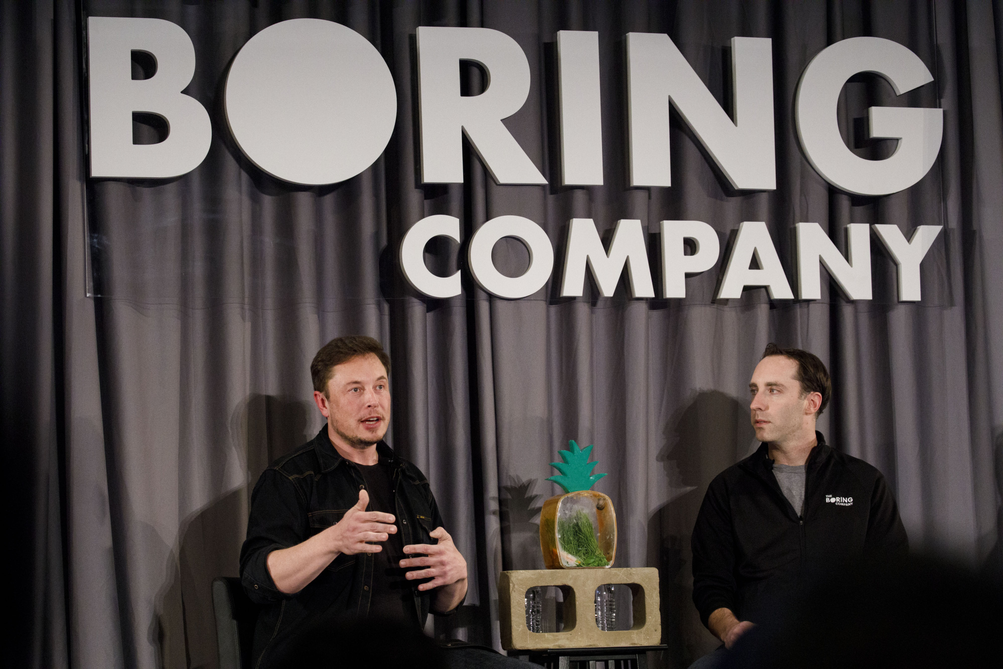 Tesla CEO Elon Musk Attends The Boring Co. Information Session