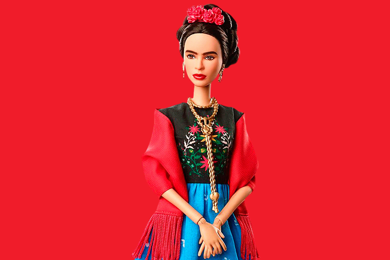 Mattel's Barbie Inspiring Women Series Frida Khalo doll.