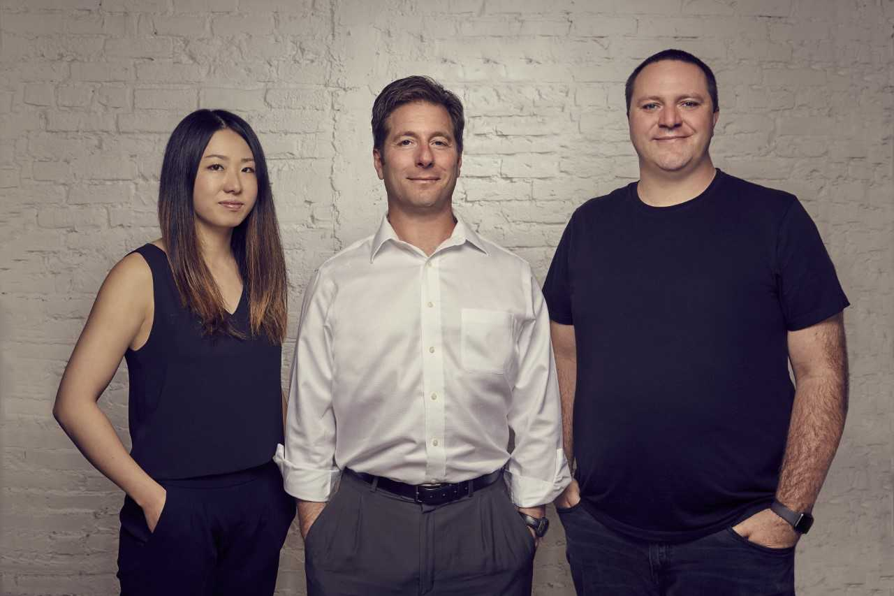 Harbor's three co-founders (from left): Arisa Amano, Josh Stein, and Bob Remeika.