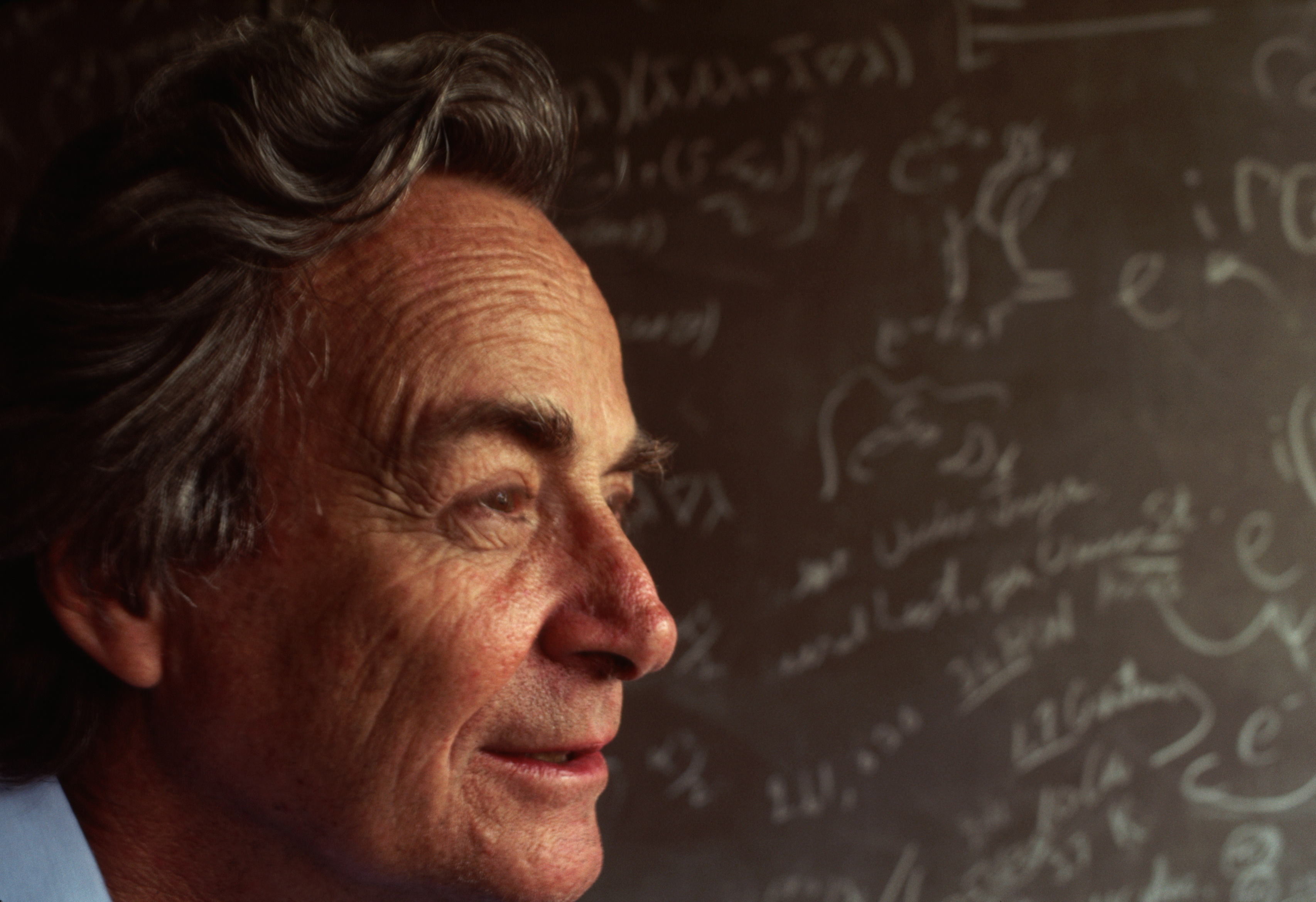 Nobel Prize Winning Physicist Richard Feynman