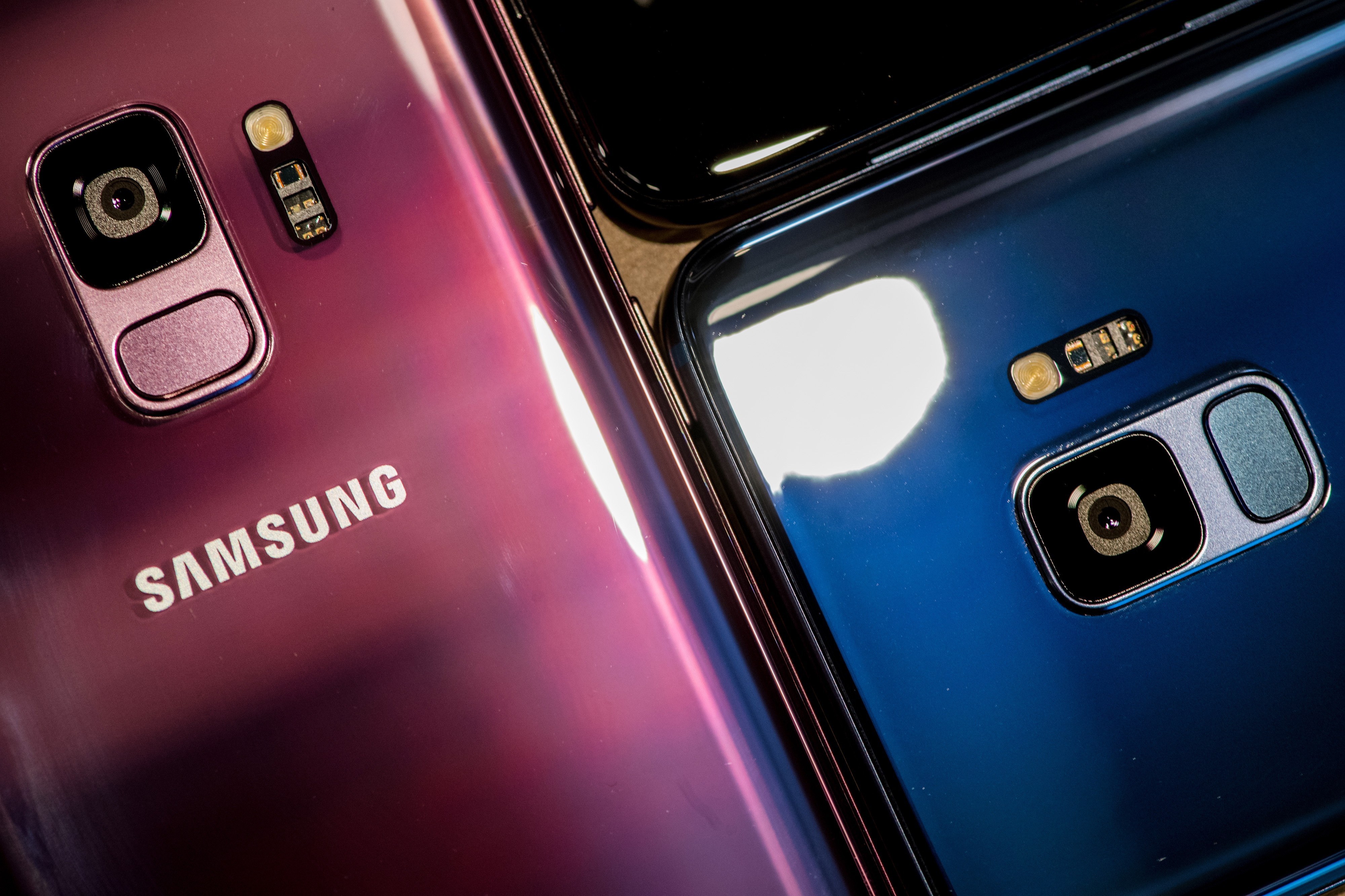 Samsung Electronics Co. Galaxy S9 Smartphone 'Unpacked' Launch Event