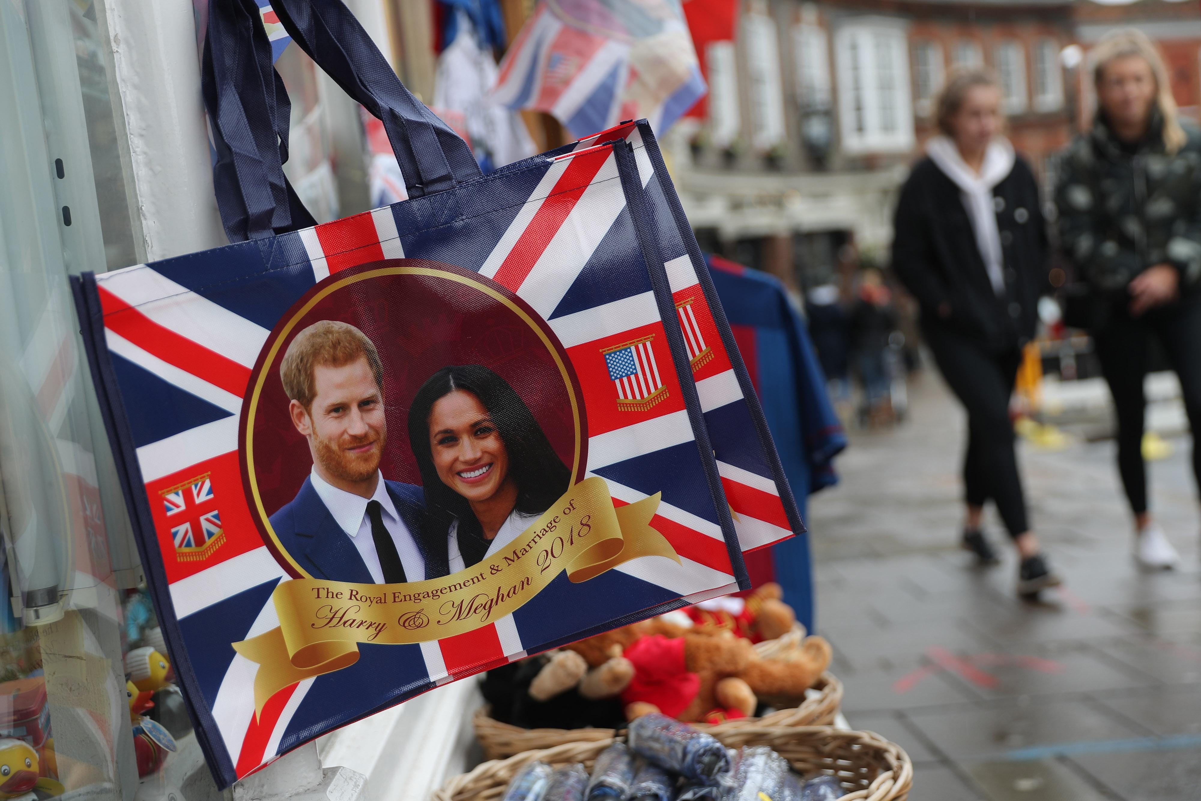 memorabilia commemorating the Royal Wedding