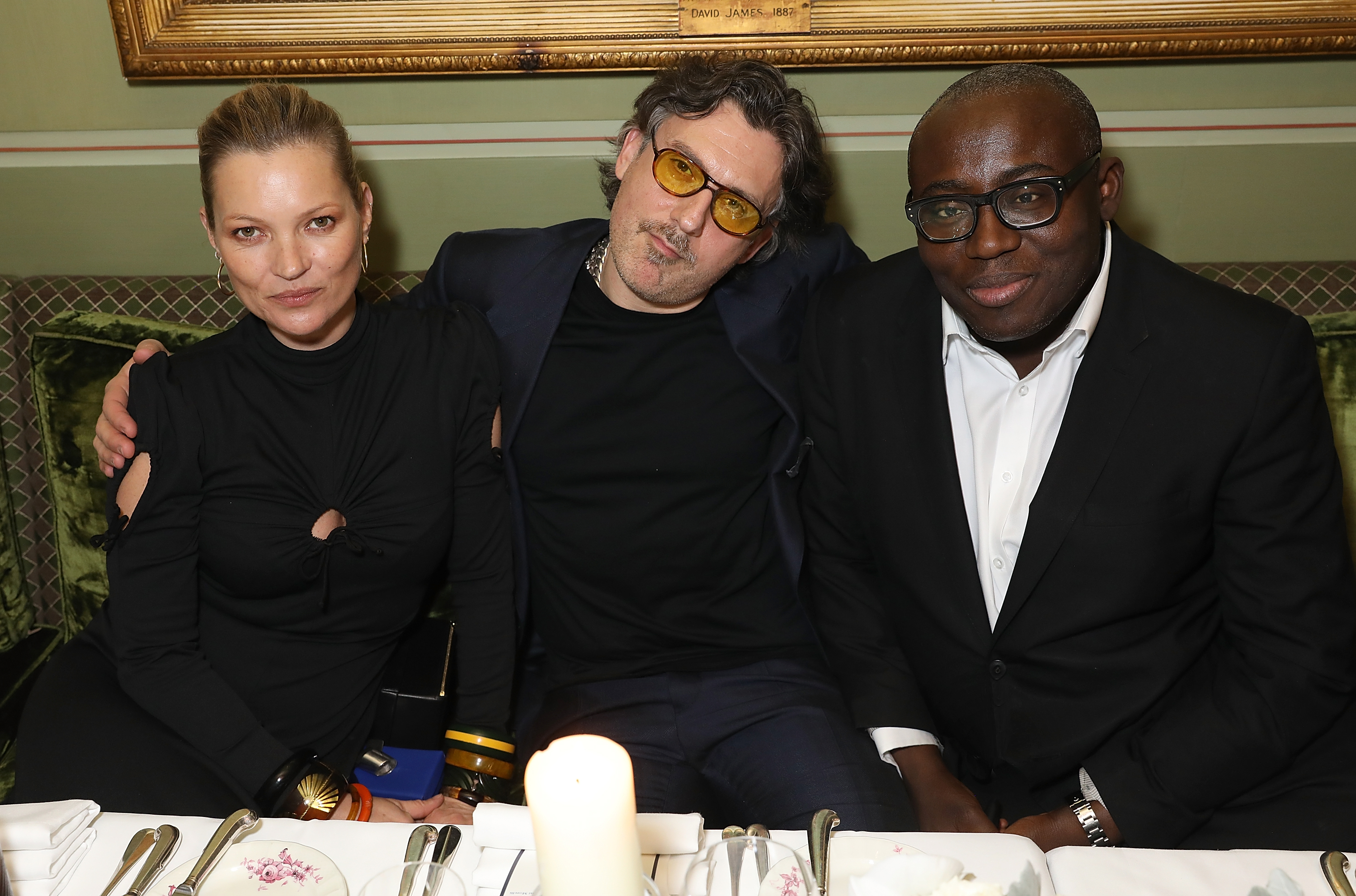 Edward Enninful and Kate Moss Host Private Dinner In Honour Of Giovanni Morelli