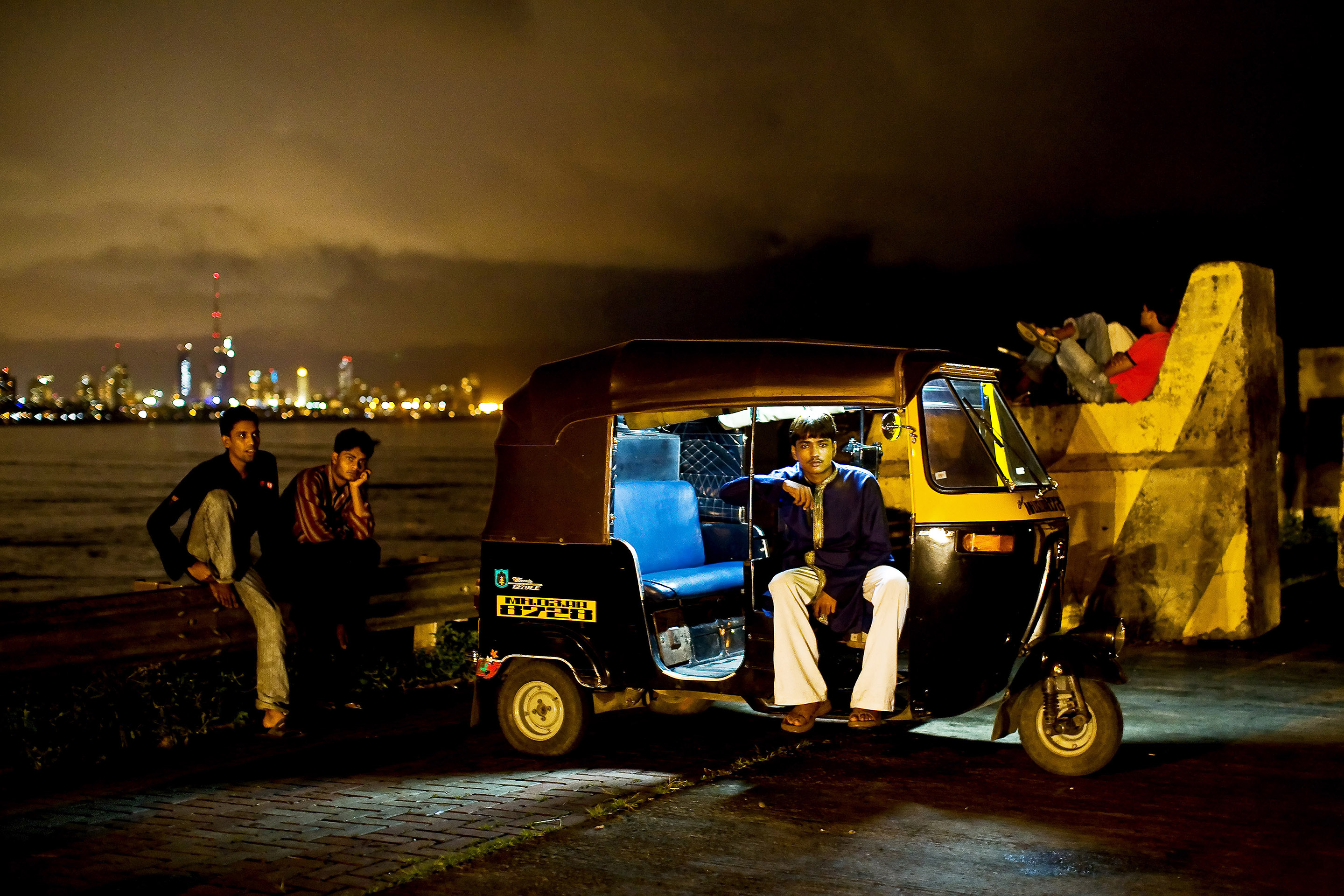MUMBAI: The Taxi Driver Lala, 17, has been operating an auto rickshaw for two years.