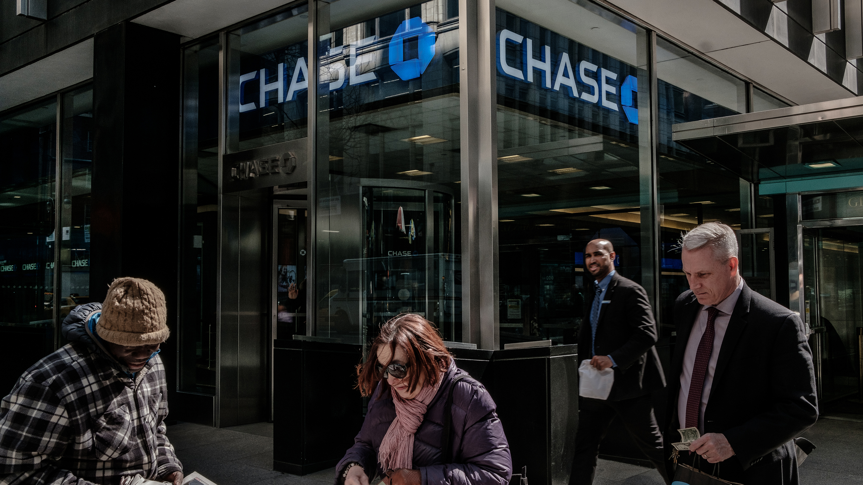 A JPMorgan Chase & Co. Bank Branch Ahead Of Earnings Figures