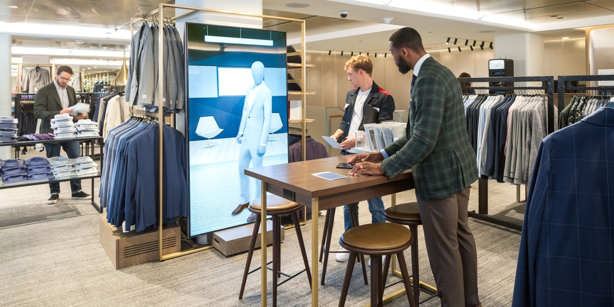 Why Nordstrom Is Betting on High-Touch Tech