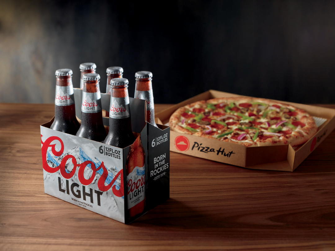 Pizza Hut has expanded its beer delivery to 100 more locations in Arizona and California, beginning Tuesday, May 8, 2018.