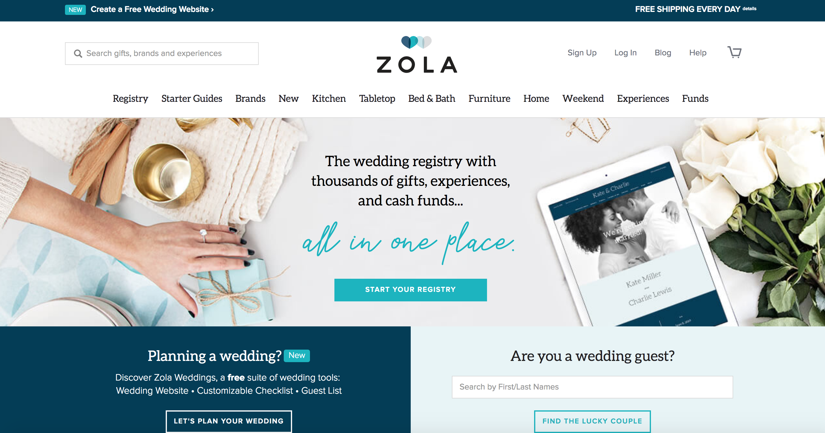 zola wedding funding nbc today show