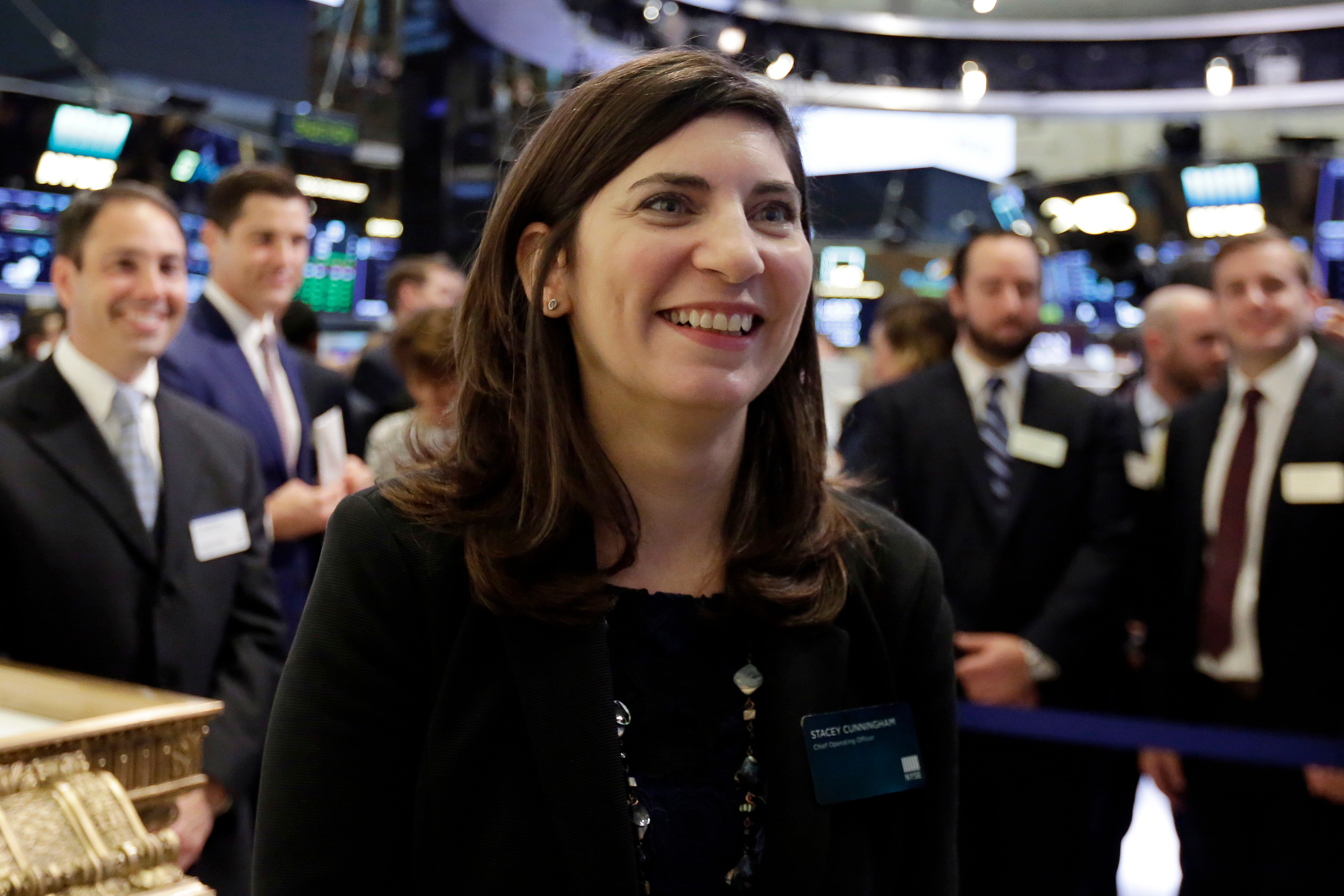 NYSE First Female Leader, New York, USA - 22 May 2018