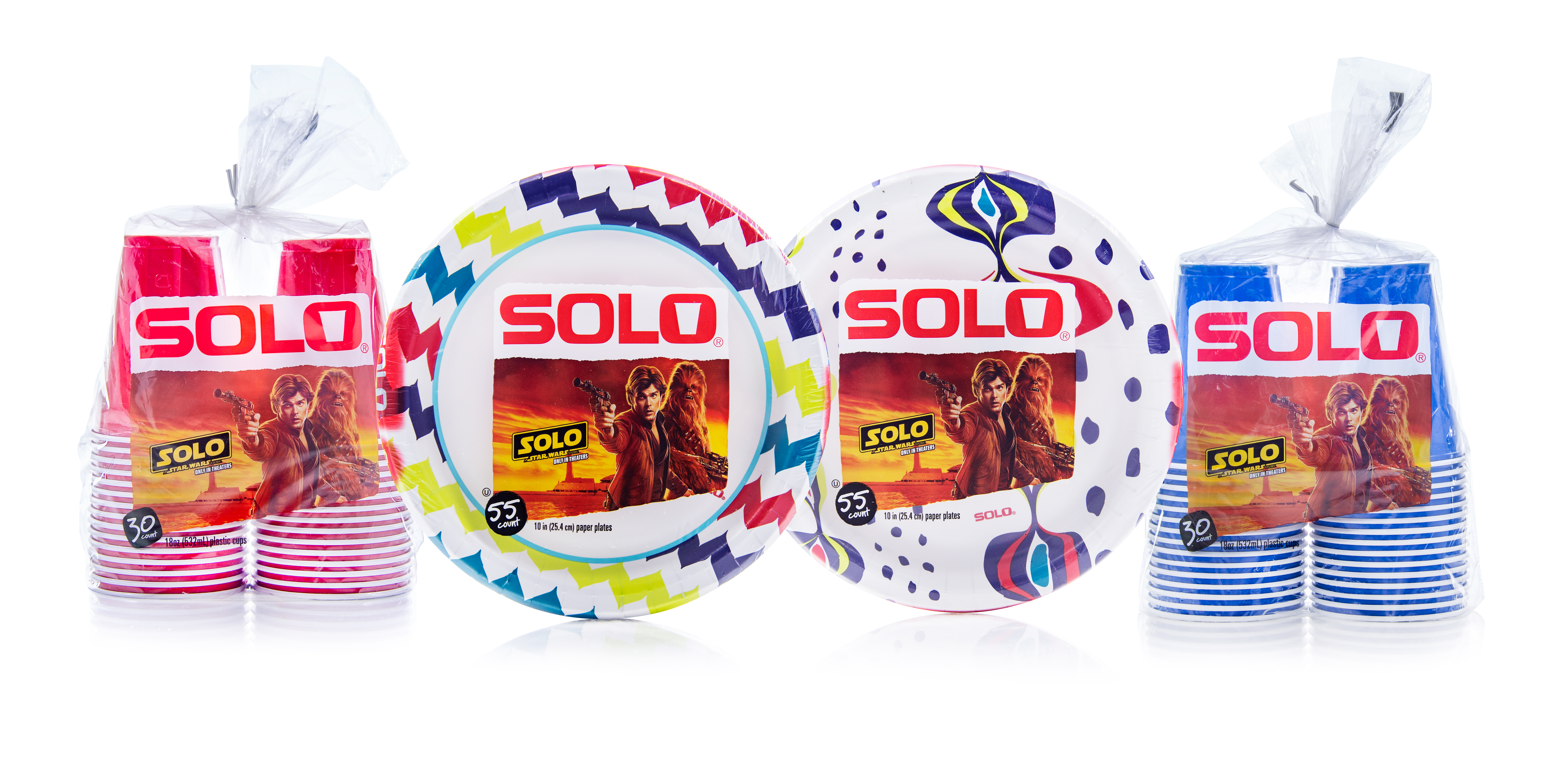 Star Wars: Han Solo Teams Up With Plastic Cup Maker Solo