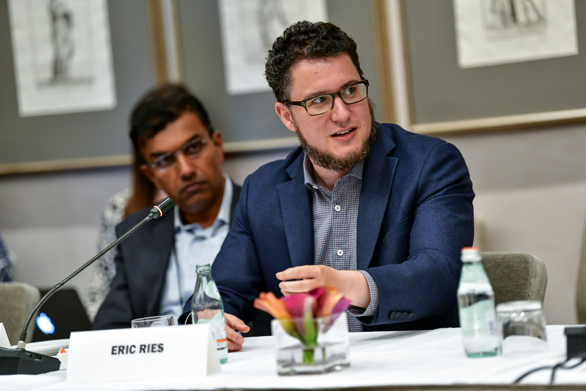 Eric Ries, author of The Lean Startup and founder and CEO of The Long-Term Stock Exchange discusses innovating like a startup at the Fortune CEO Initiative 2018 Annual Meeting June 25th, 2018 San Francisco, Calif.