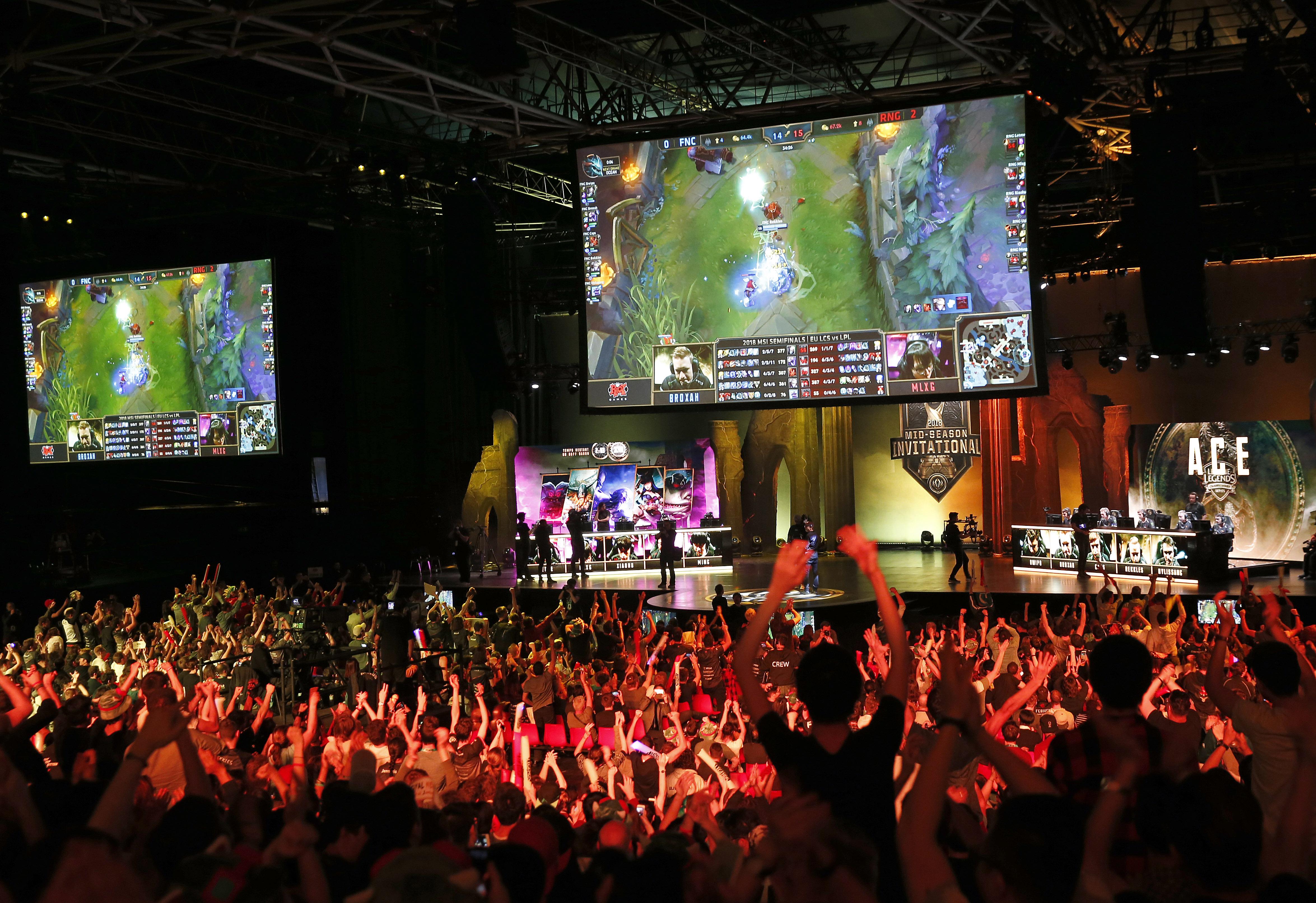 eSport Tournament : League of Legends At Le Zenith In Paris