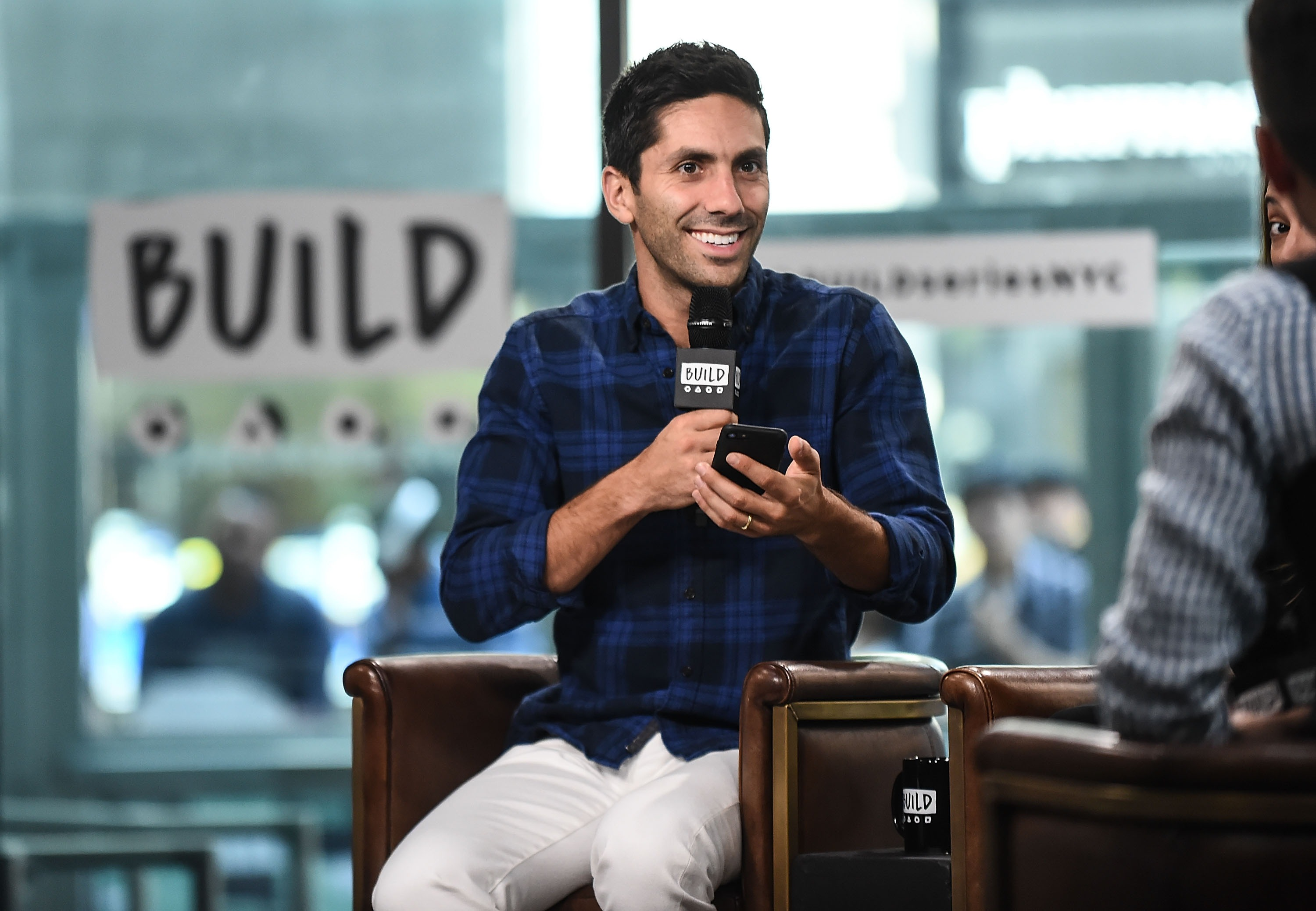 "Build Presents Nev Schulman And Laura Perlongo Discussing ""We Need To Talk"" And ""Catfish"""