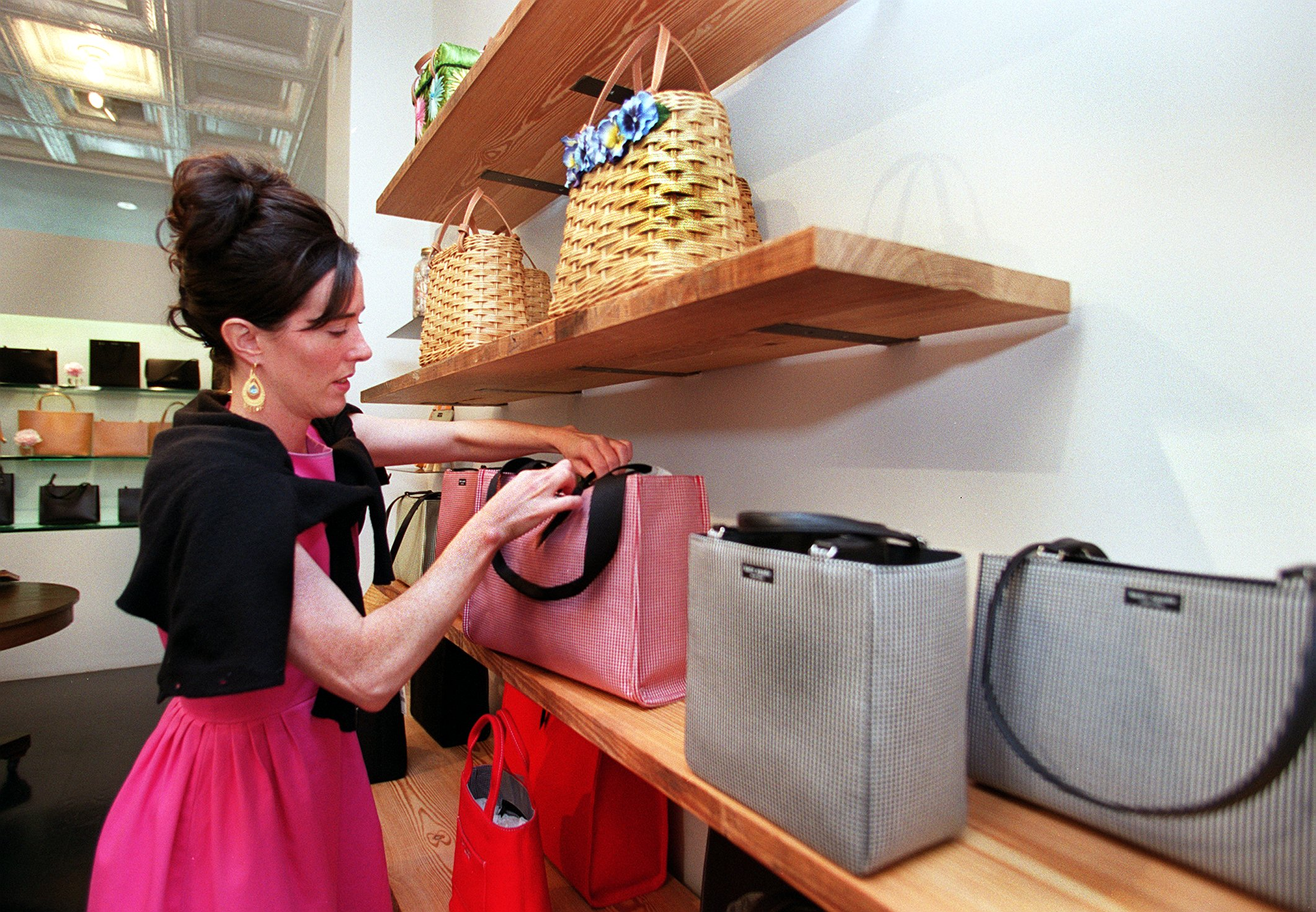 Designer Kate Spade In Boston