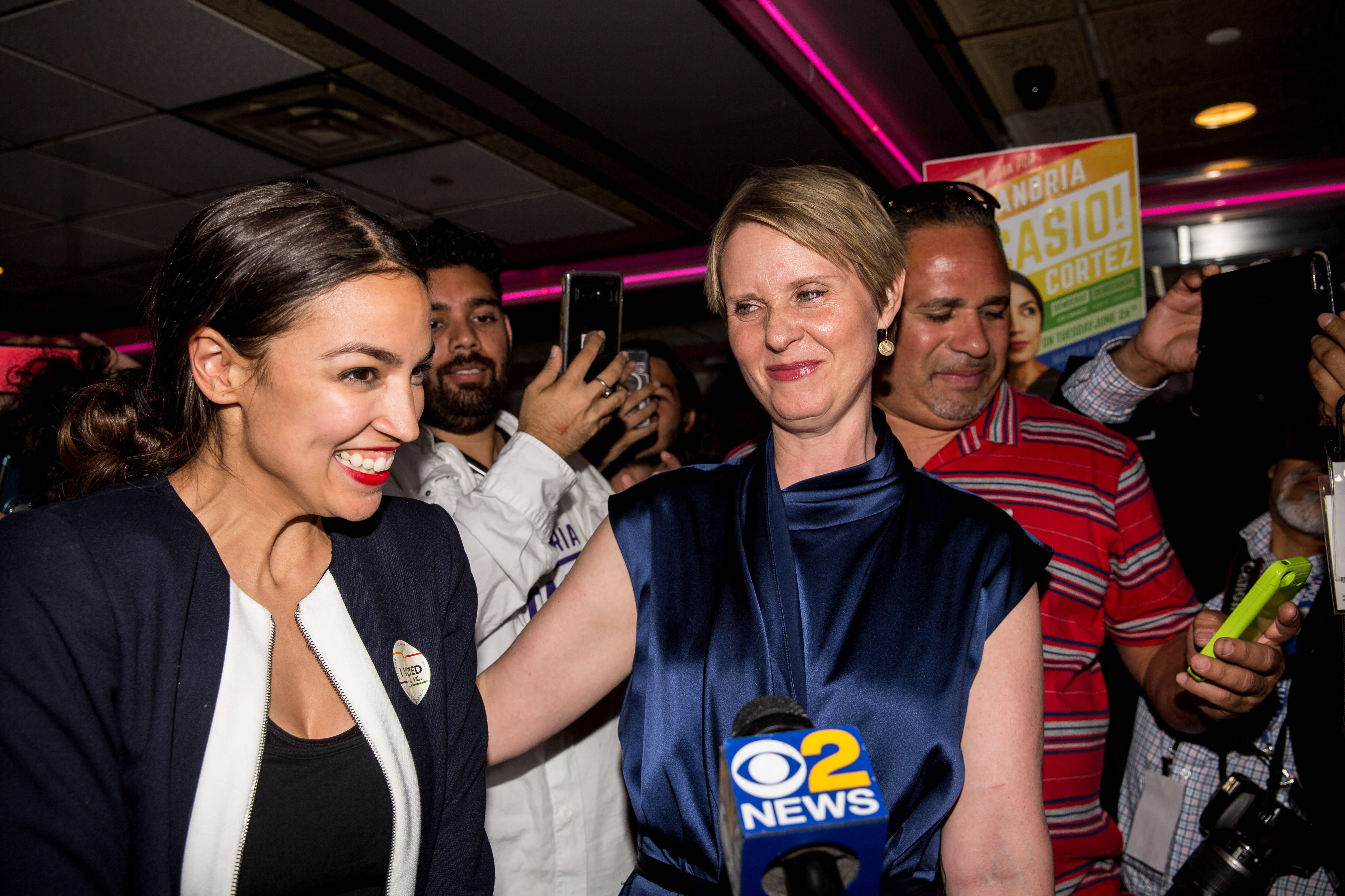 Alexandria Ocasio-Cortez Upsets  Rep. Joseph Crowley In NY Primary