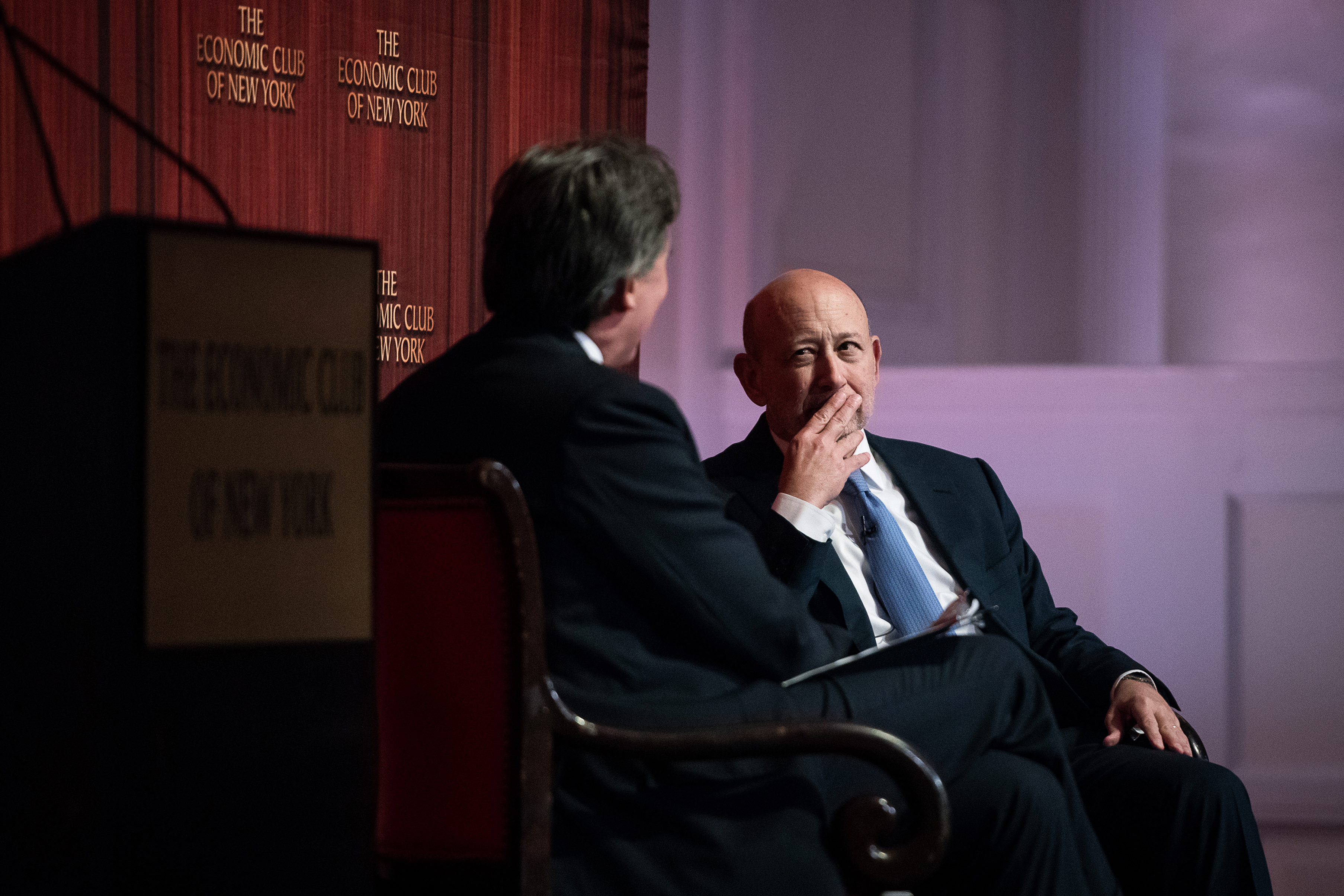 Goldman Sachs Lloyd blankfein trump immigration