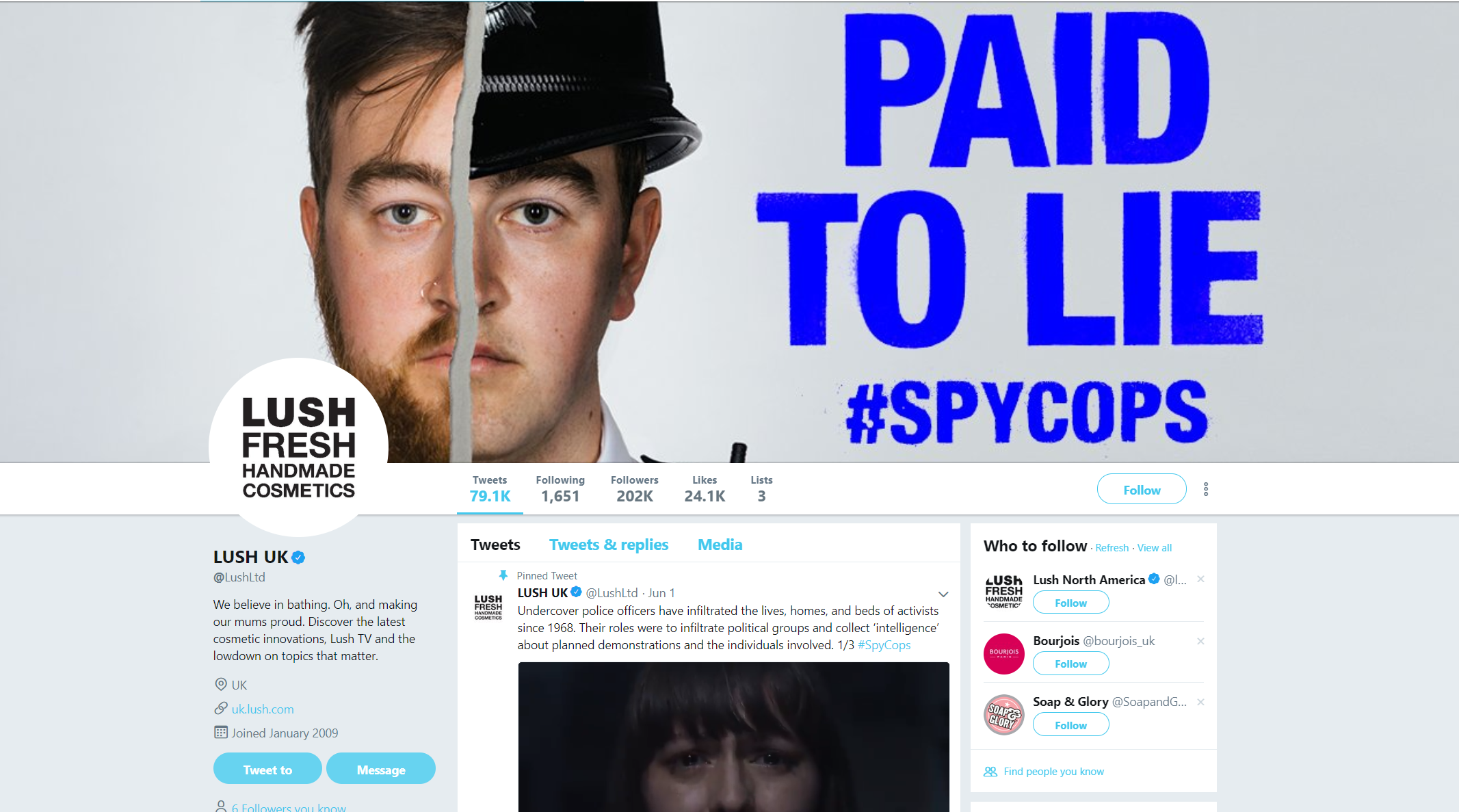 paid to lie lush campaign