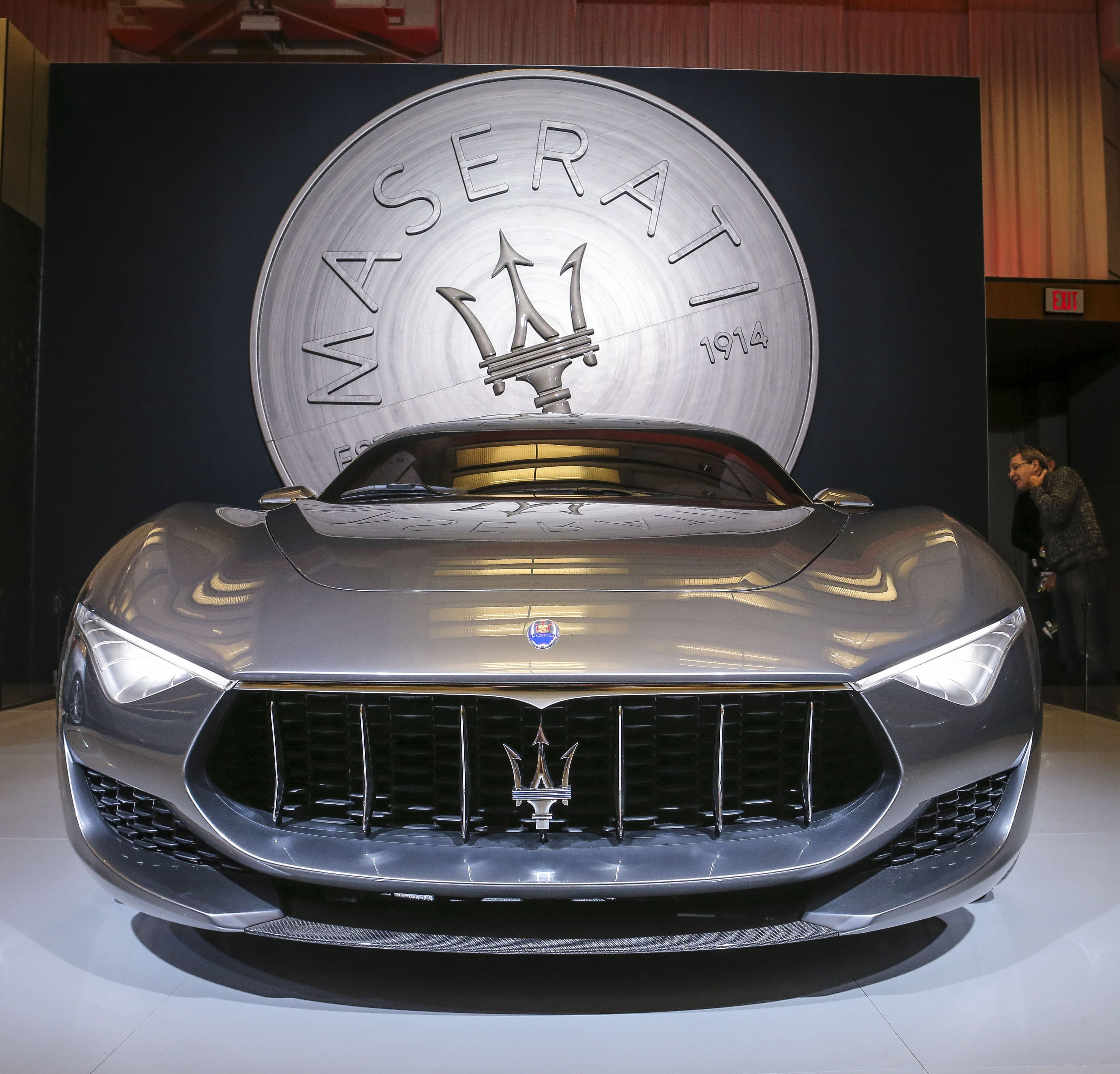 The Maserati Alfieri Concept At The Canadian International AutoShow