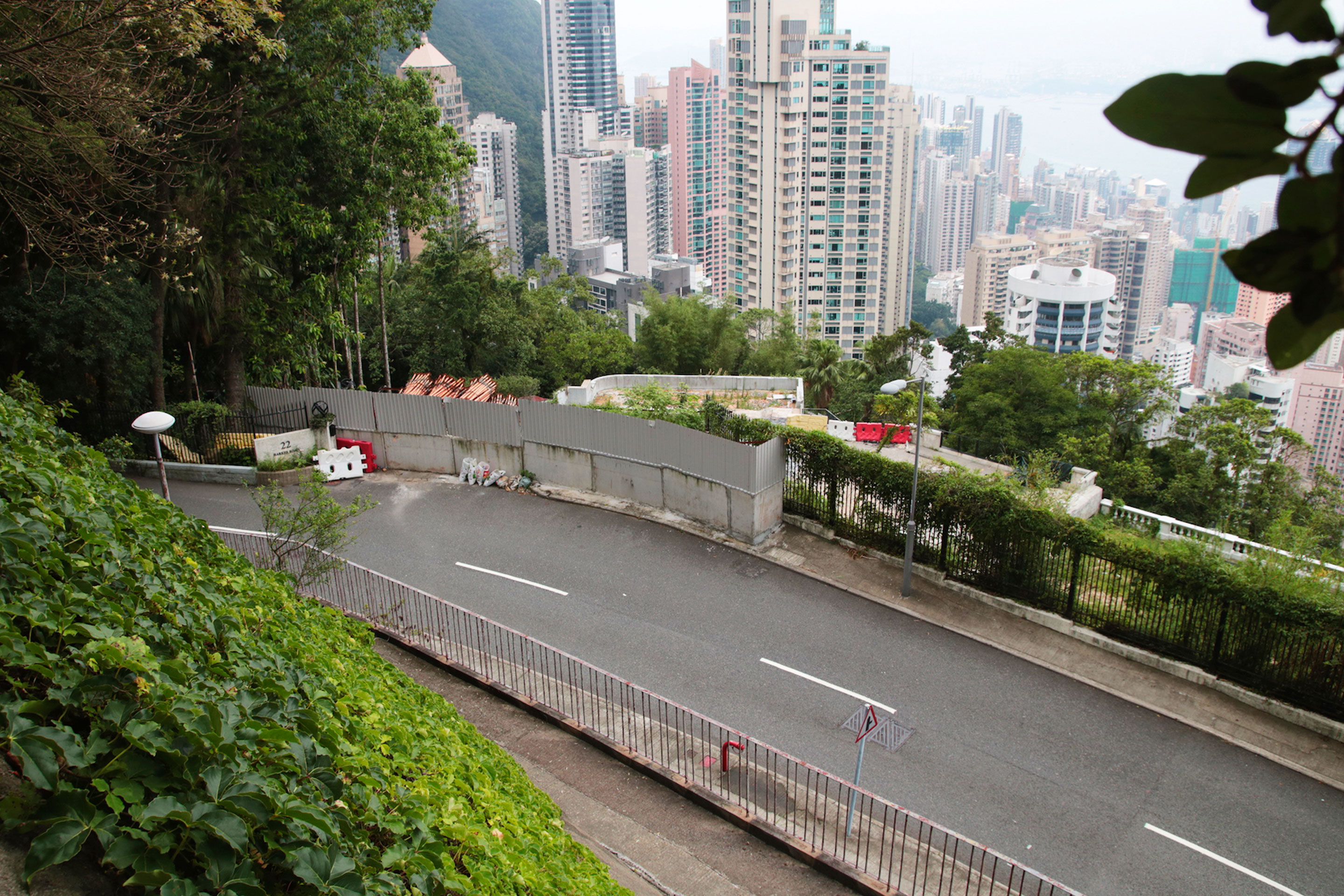 Jack Ma's property on Barker Road in Hong Kong's Victoria Peak.