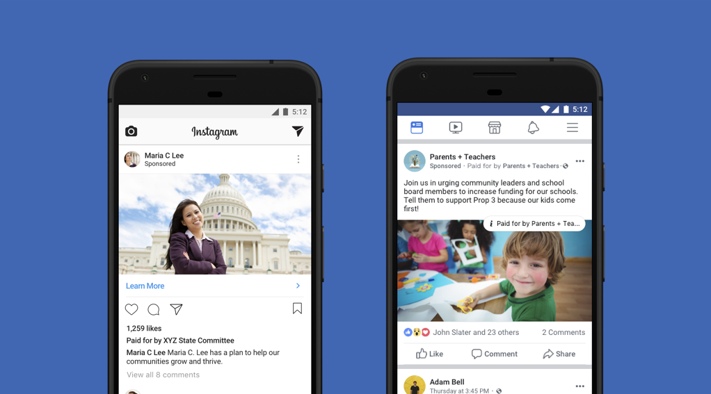 Facebook announced new rules for political ads in May.
