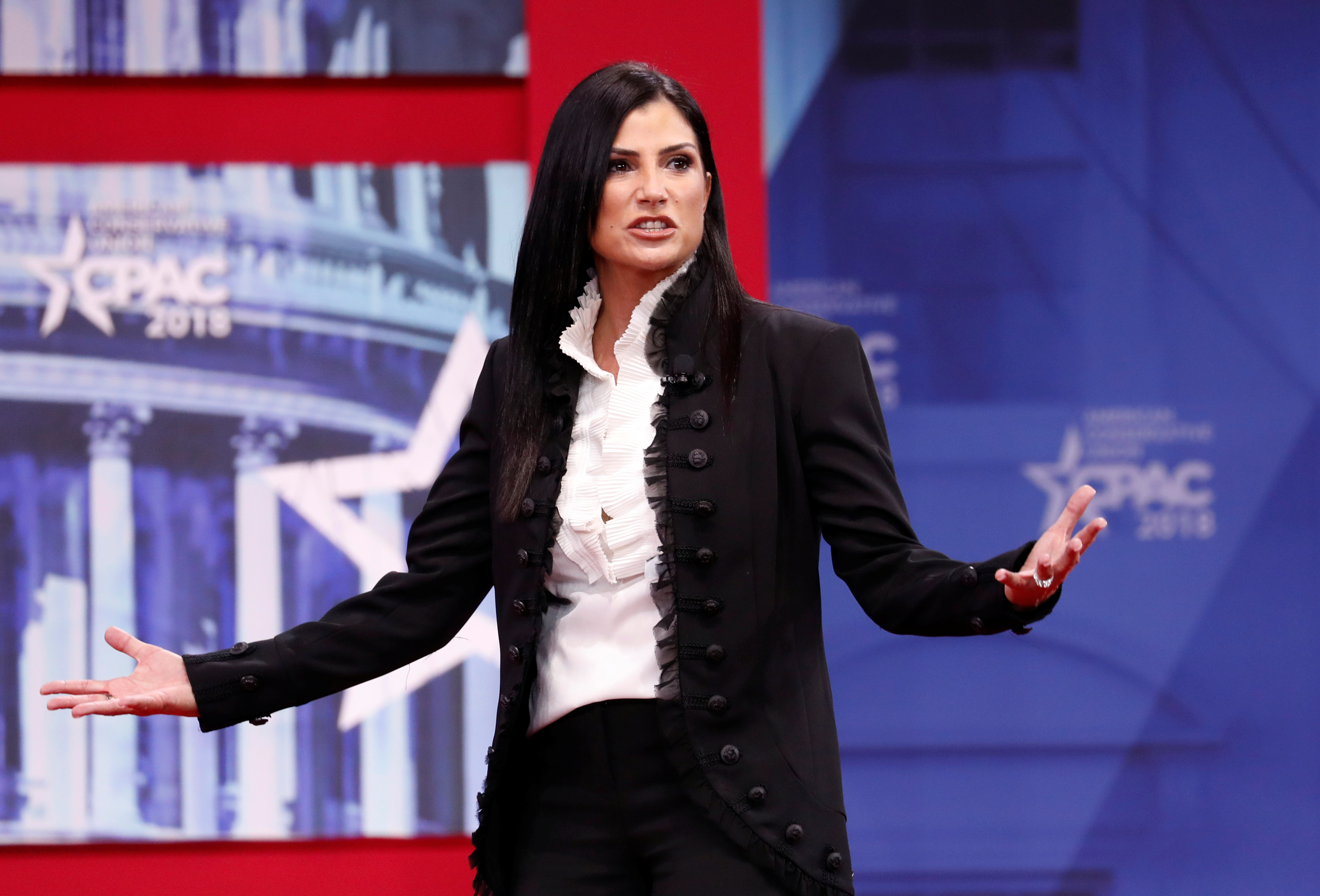 Dana Loesch speaks CPAC conference held in National Harbor, Maryland