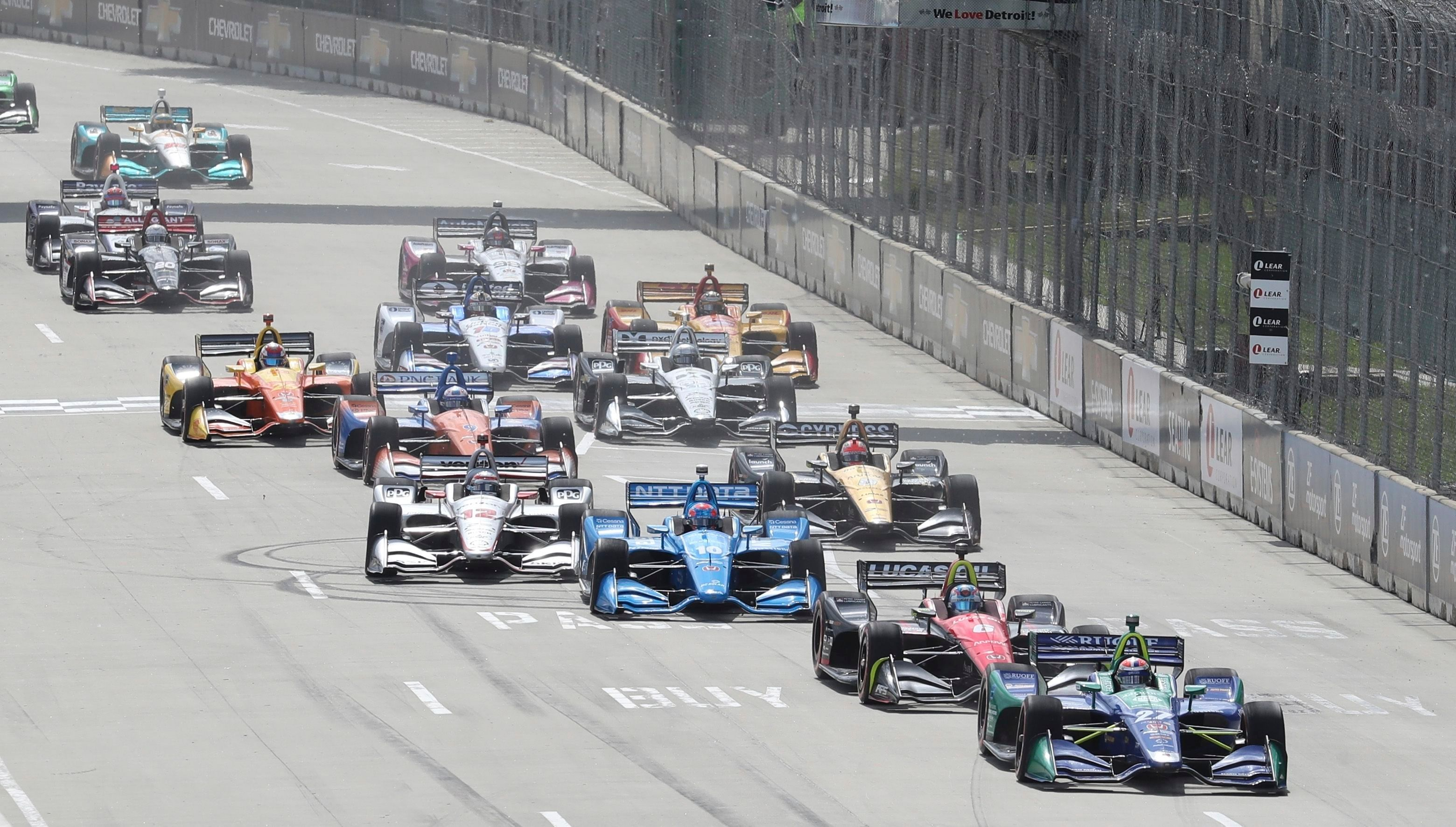 IndyCar Auto Racing, Detroit, USA - 03 Jun 2018