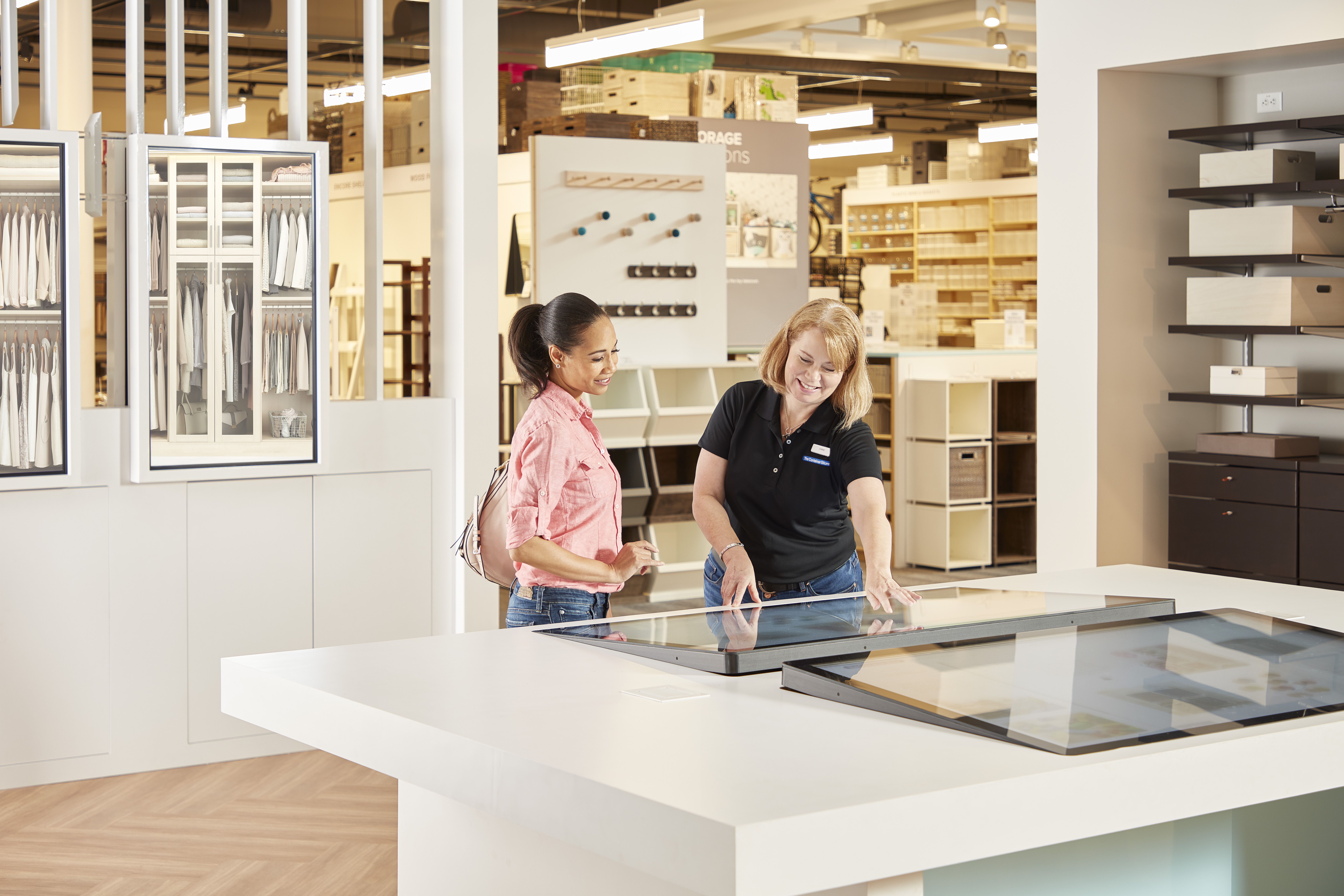 The Container Store Reveals New Tech Savvy Store Design ...