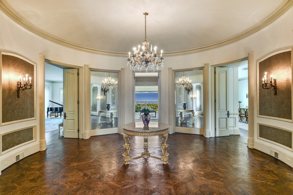 Inside Zsa Zsa Gabor's Mansion, which has gone up for sale.