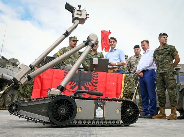CANADA-LATVIA-DEFENCE-NATO-POLITICS-DIPLOMACY