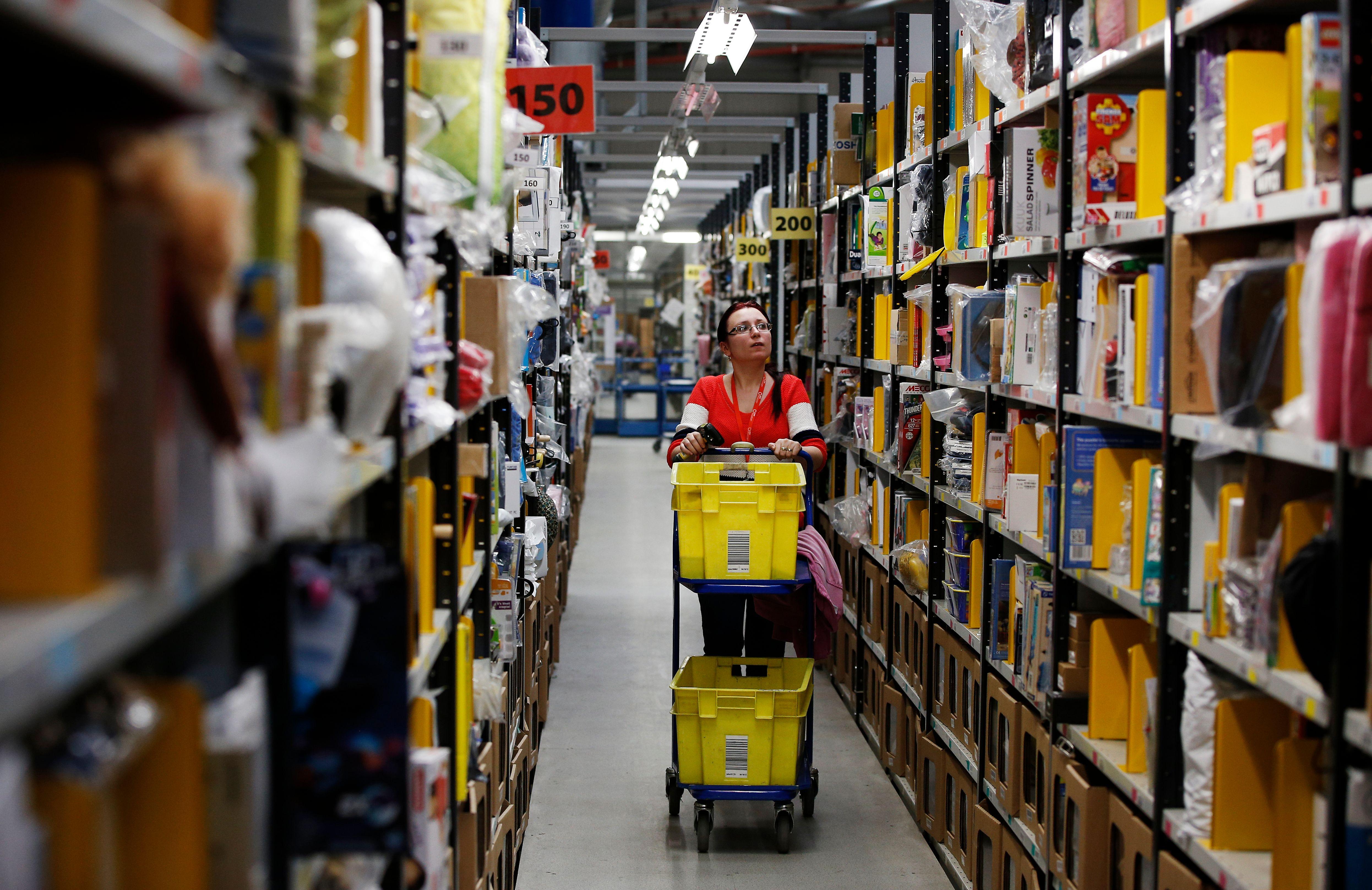 Amazon workers civil unrest brexit