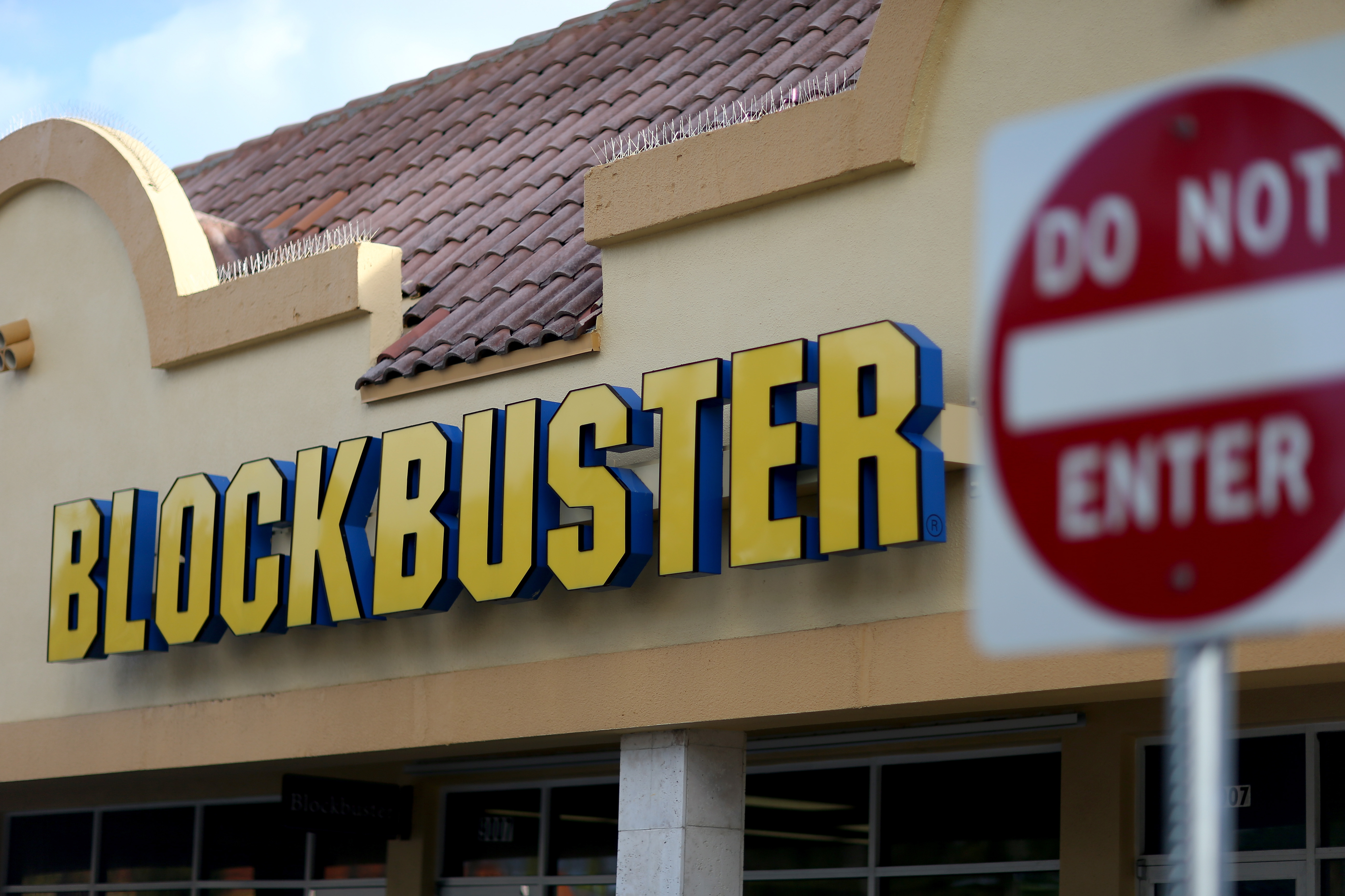 Blockbuster Store Closures