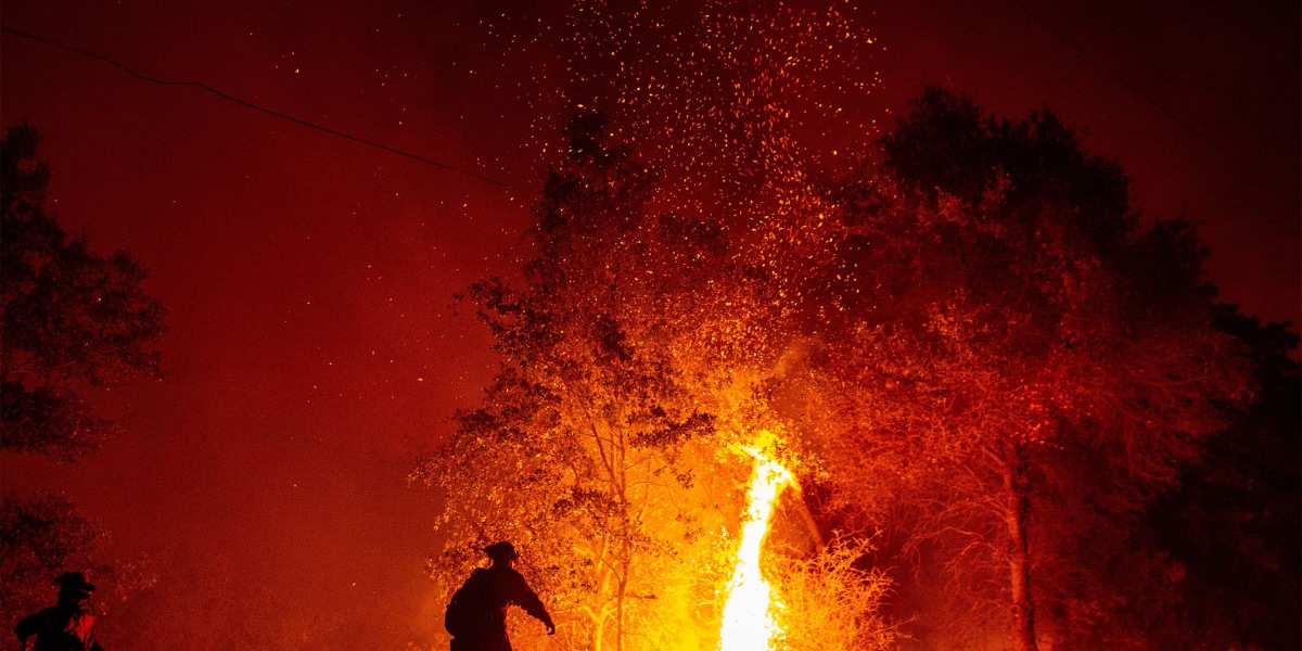 California Fires: Photos of the Blazes Devouring the State