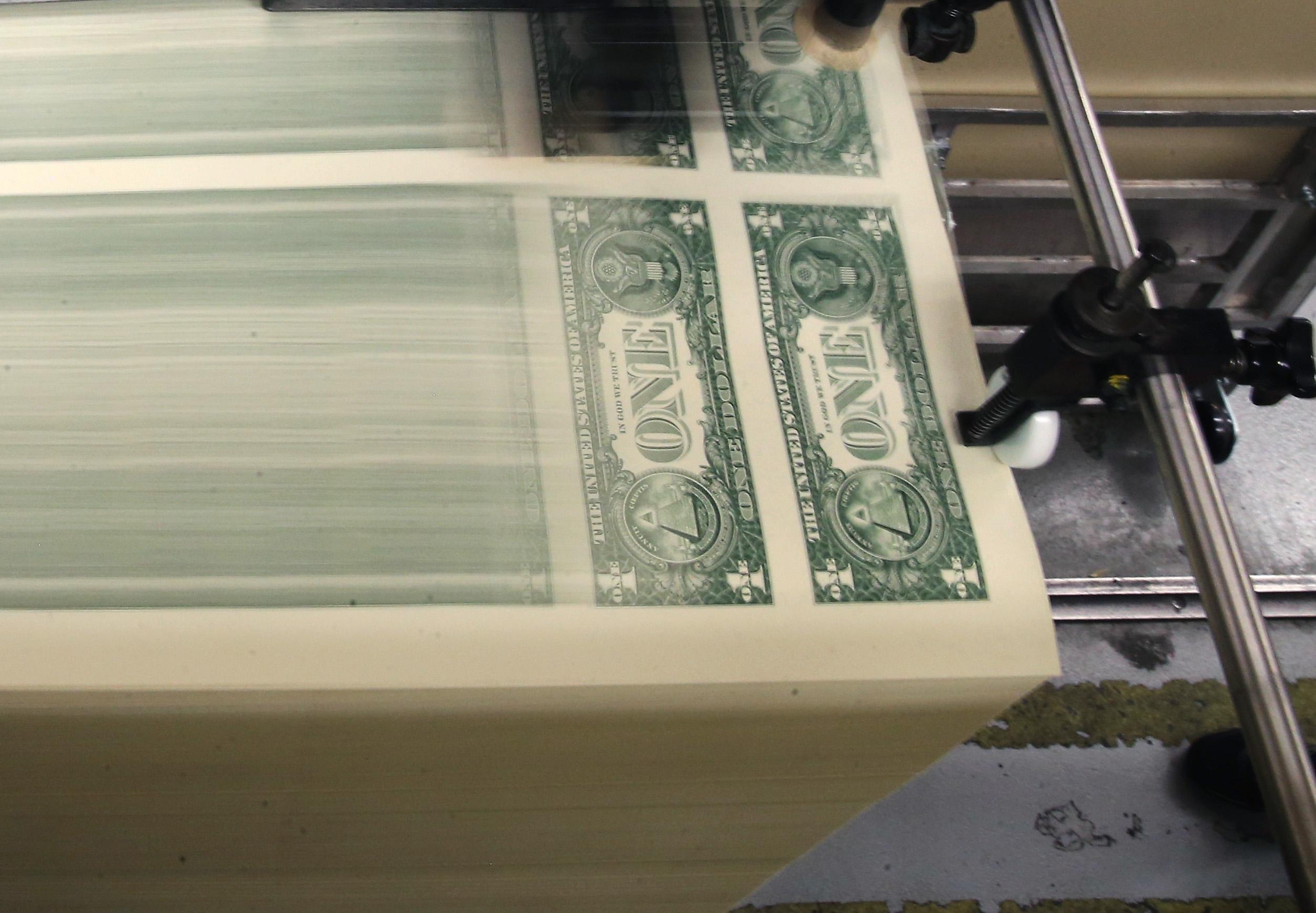 dollar-bill-printing
