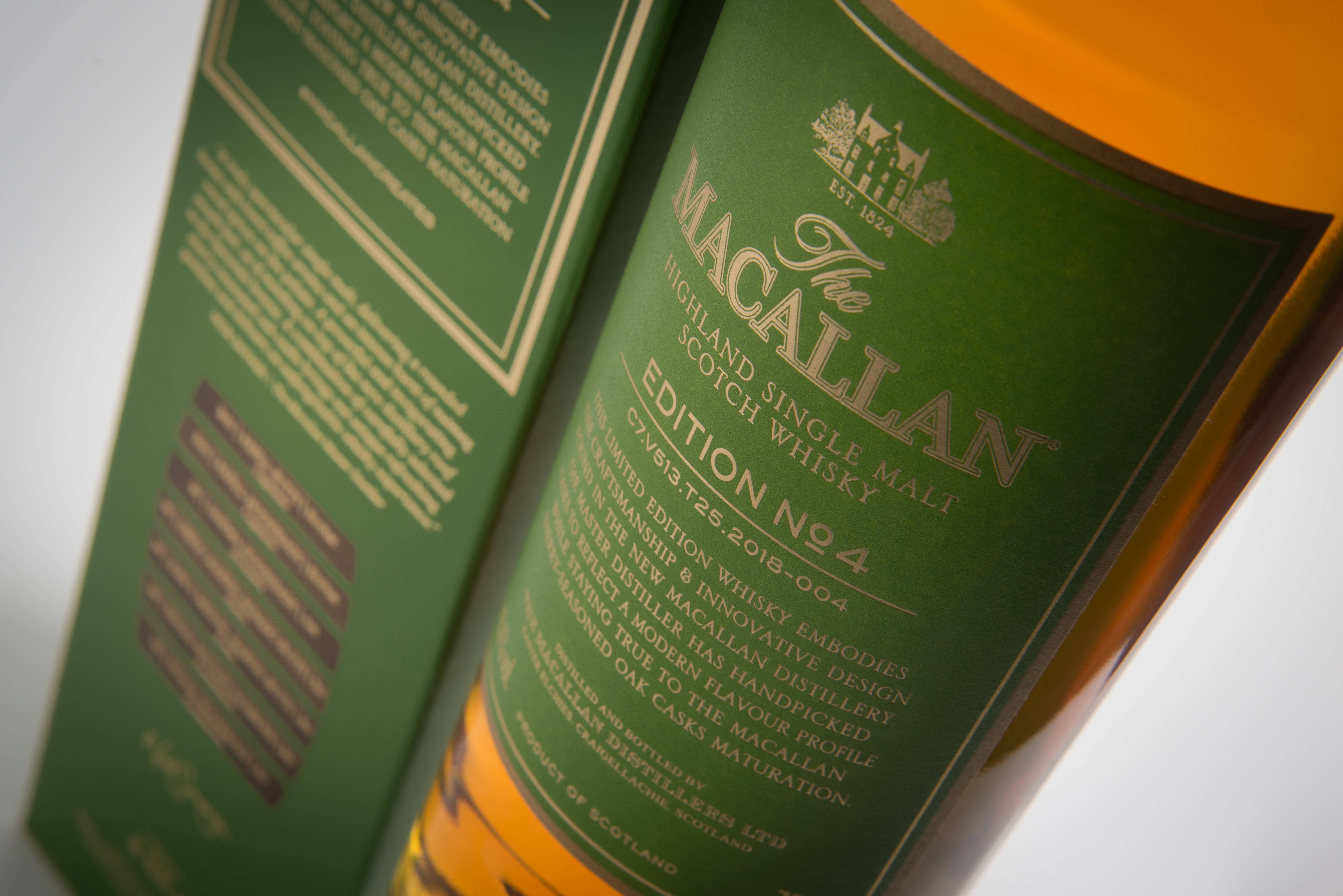 The Macallan Edition No. 4 Whisky