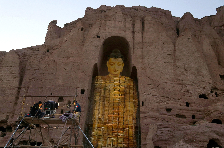 AFGHANISTAN-CHINA-BUDDHISM-BAMIYAN