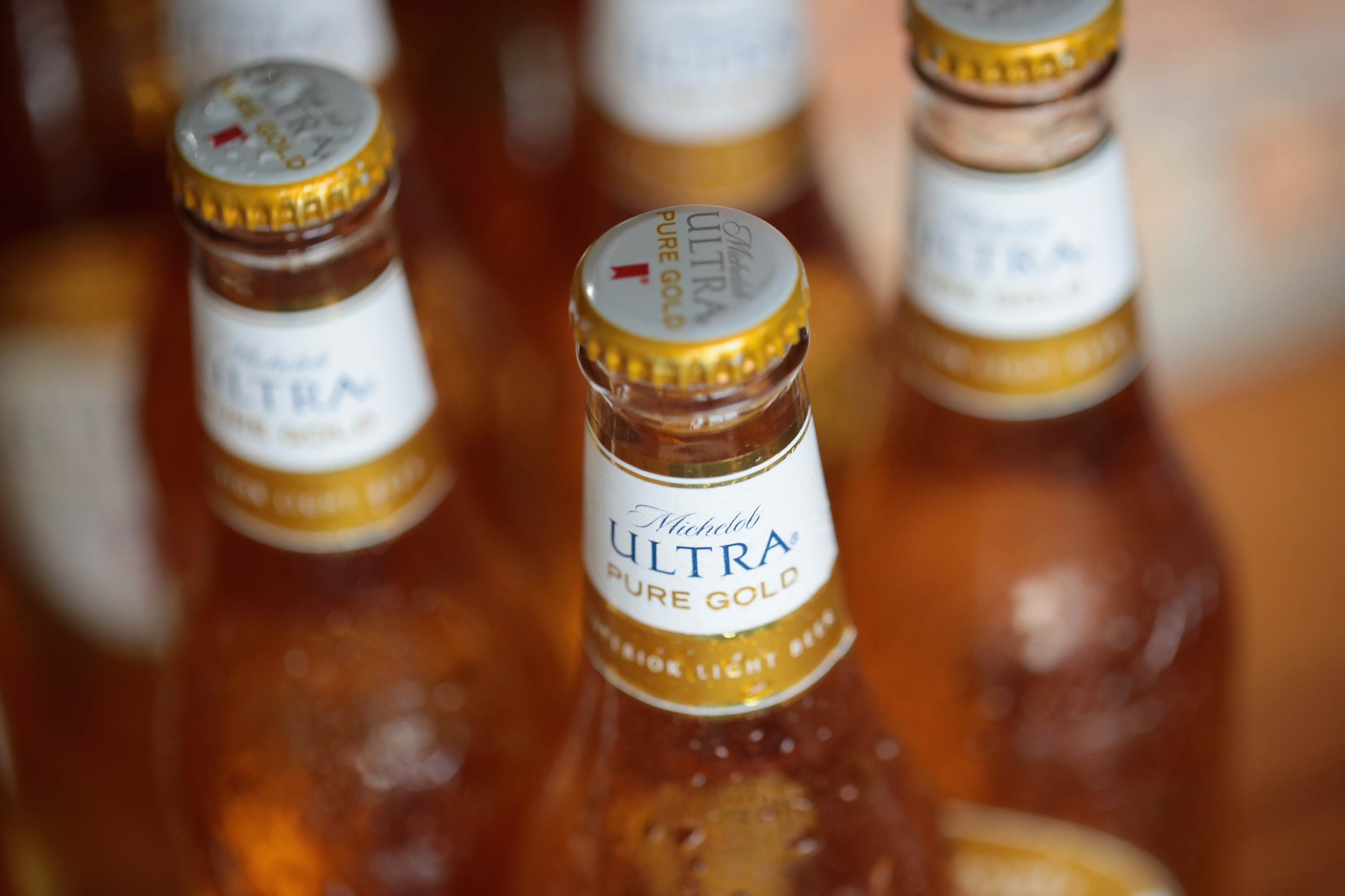 Anheuser-Busch InBev Launches Organic Michelob Ultra Pure Gold Beer