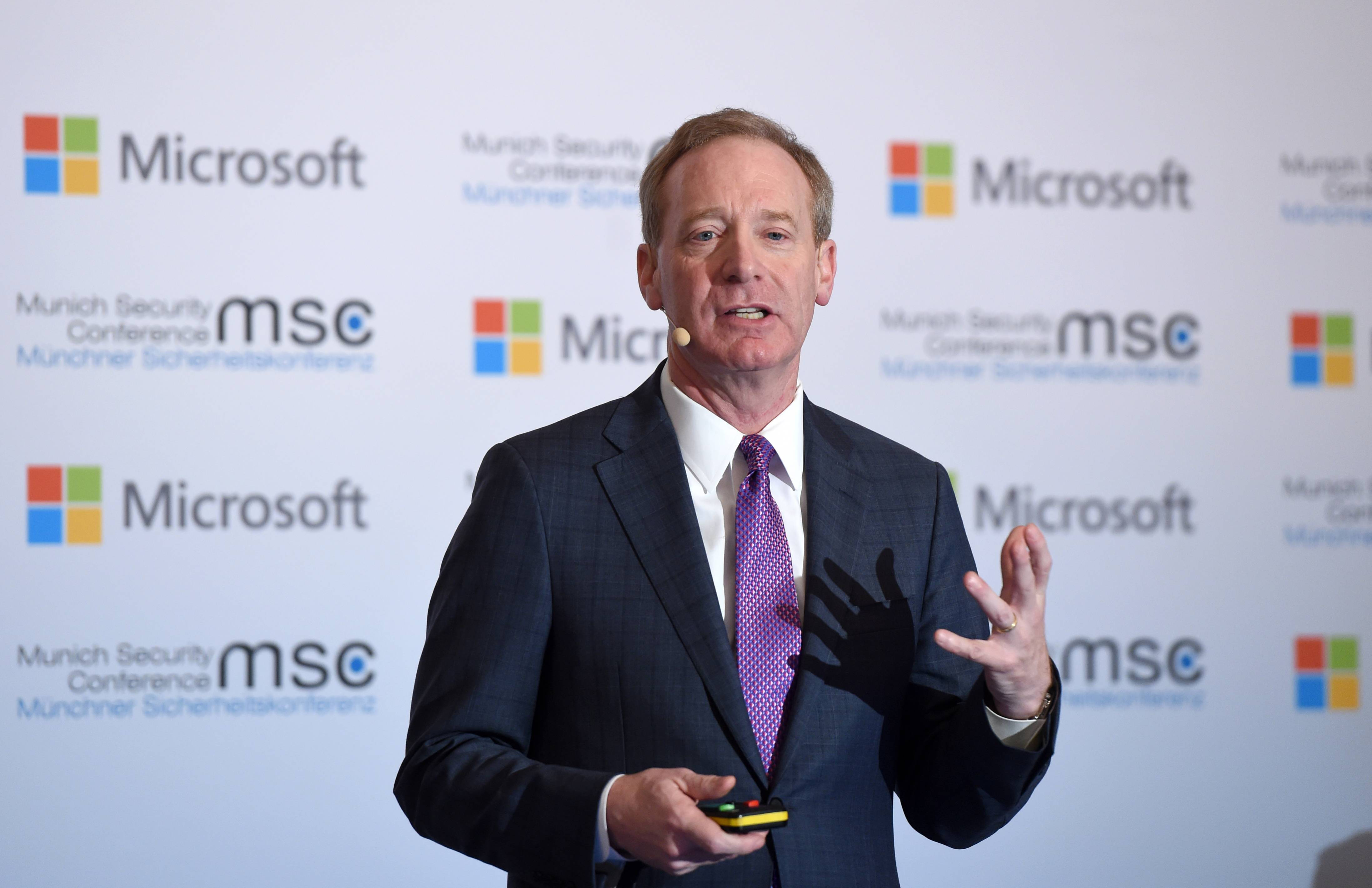 Microsoft President Brad Smith calls for government regulation of facial recognition technology.