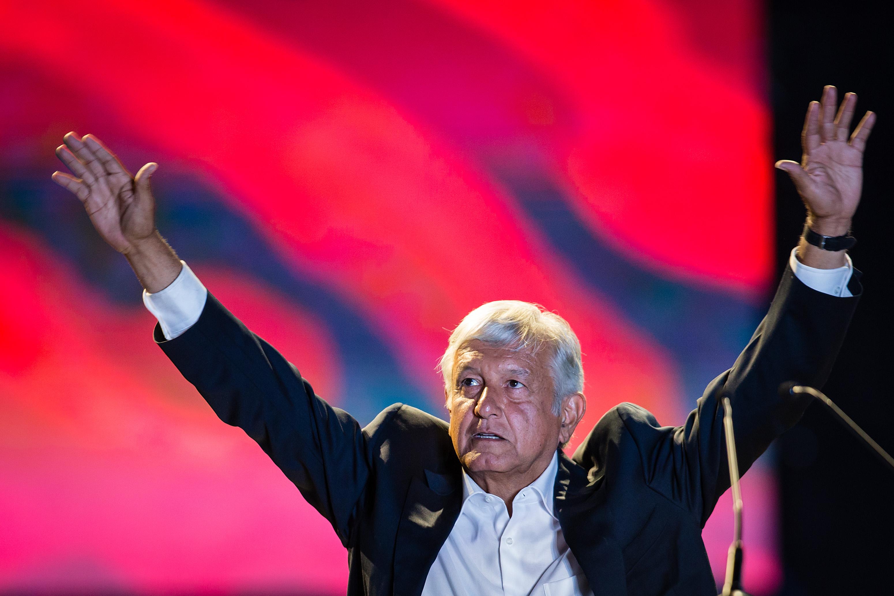 Andres Manuel Lopez Obrador Election Campaign - Closing Event