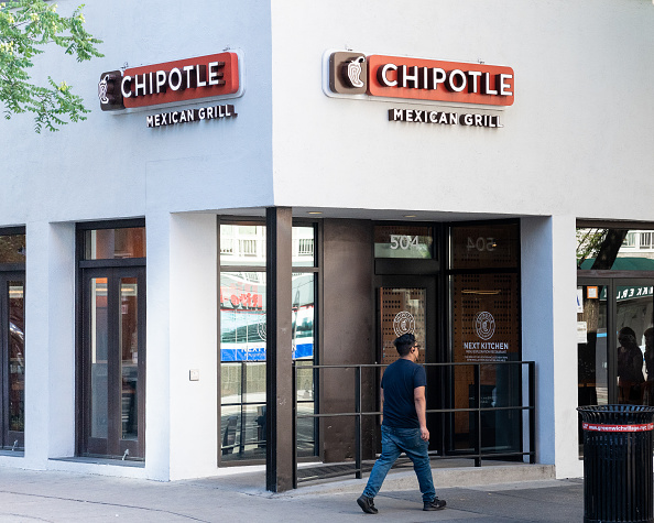 Chipotle restaurant in New York City