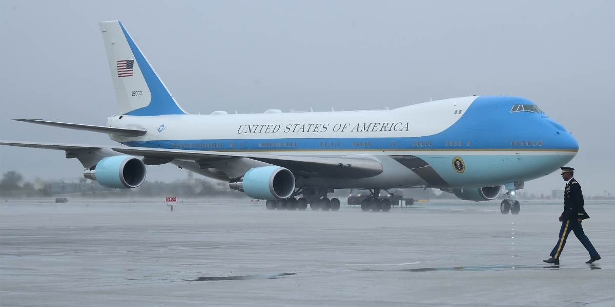 Trump Wants To Make Air Force One Look More American
