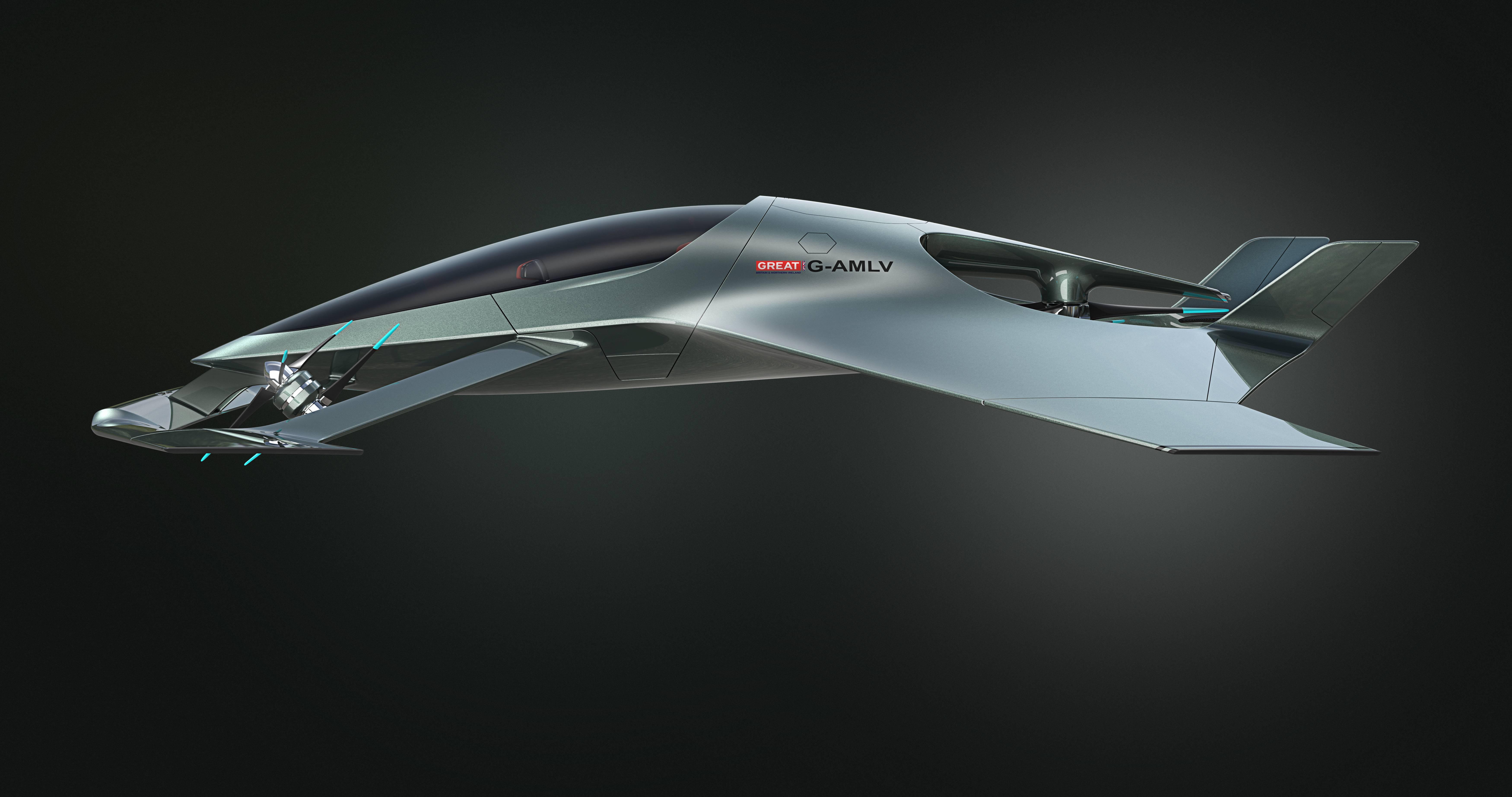 Aston Martin Volante Vision Concept.