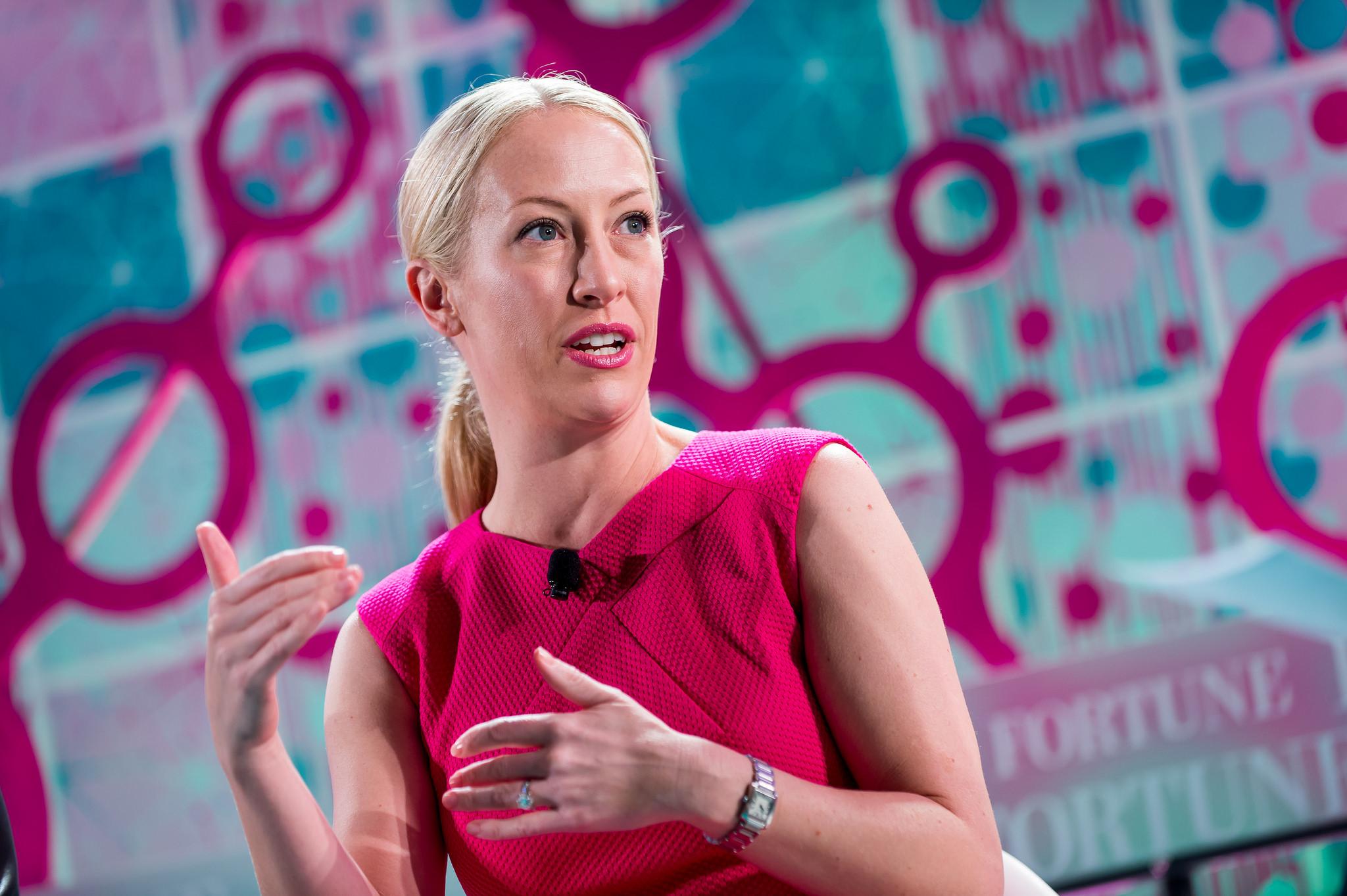Eventbrite CEO Julia Hartz at the 2015 Fortune Most Powerful Women Next Gen Summit in San Francisco.