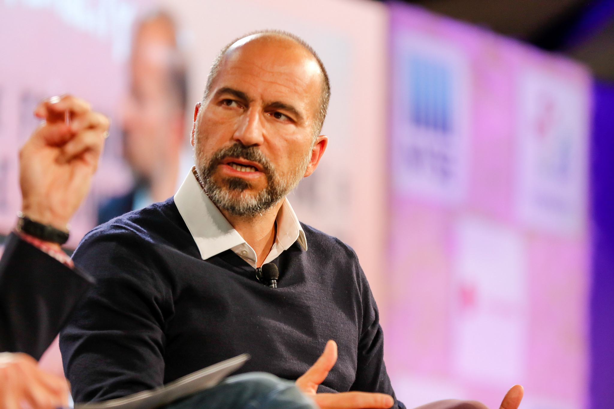 Uber CEO Dara Khosrowshahi at Fortune Brainstorm Tech 2018 in Aspen.