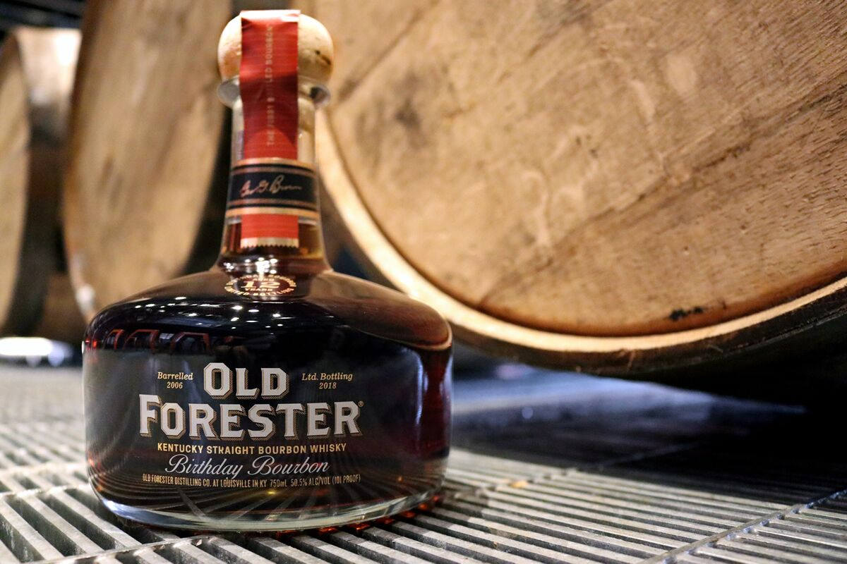 Old Forester's 2018 Birthday Bourbon